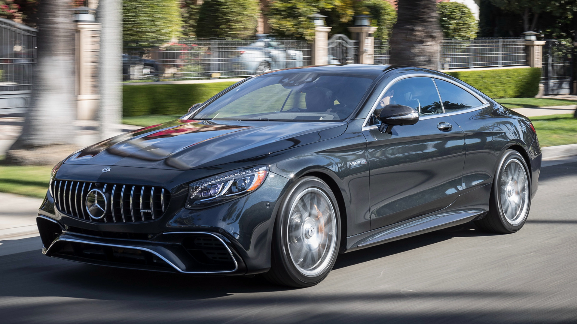 2018 Mercedes-AMG S 63 Coupe (US) - Wallpapers and HD Images | Car Pixel