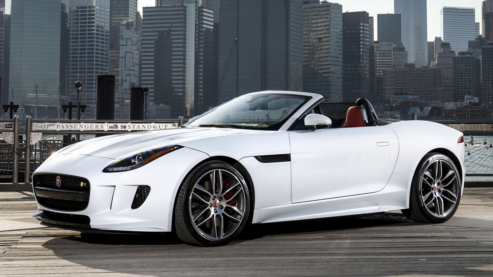 jaguar f type r 2016 us wallpapers and hd images car pixel. Black Bedroom Furniture Sets. Home Design Ideas