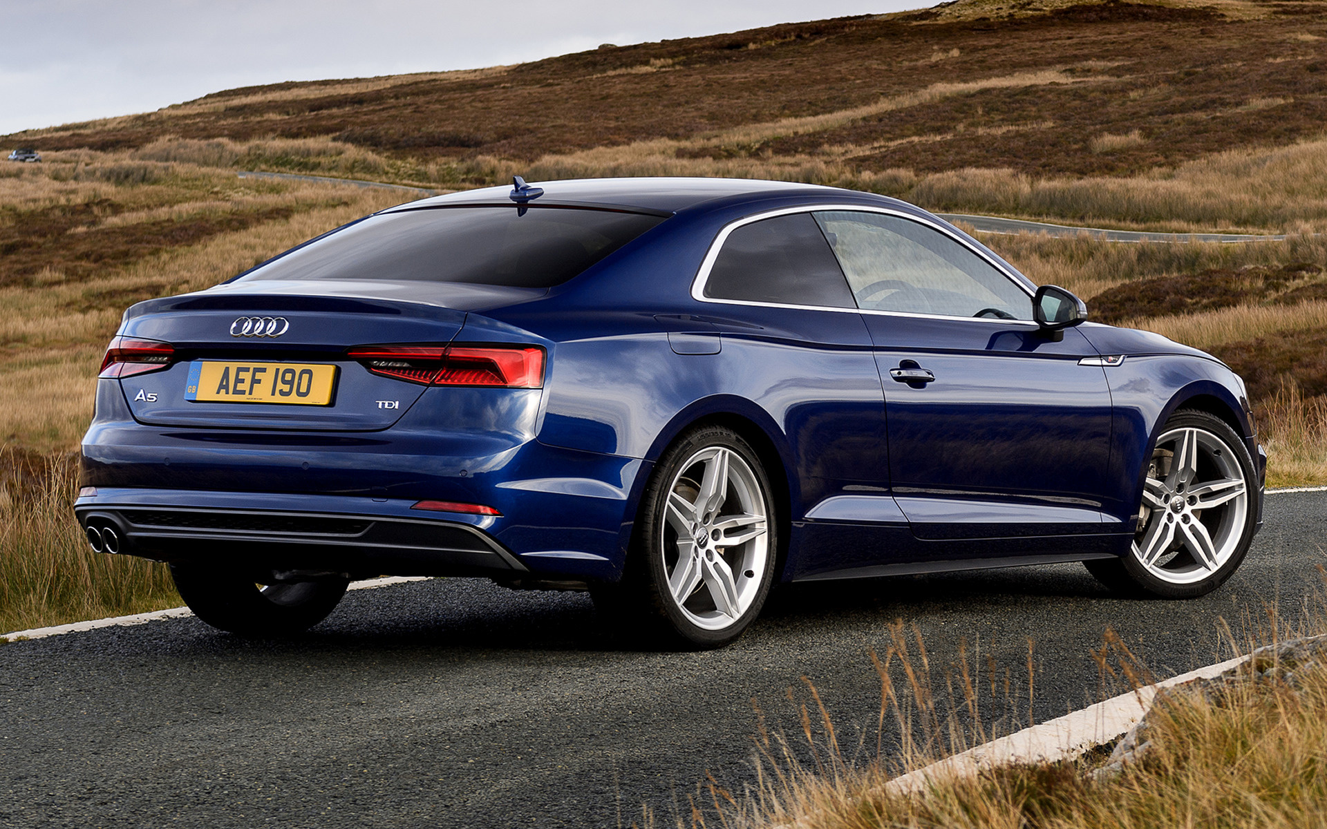 audi a5 coupe s line 2016 uk wallpapers and hd images car pixel. Black Bedroom Furniture Sets. Home Design Ideas