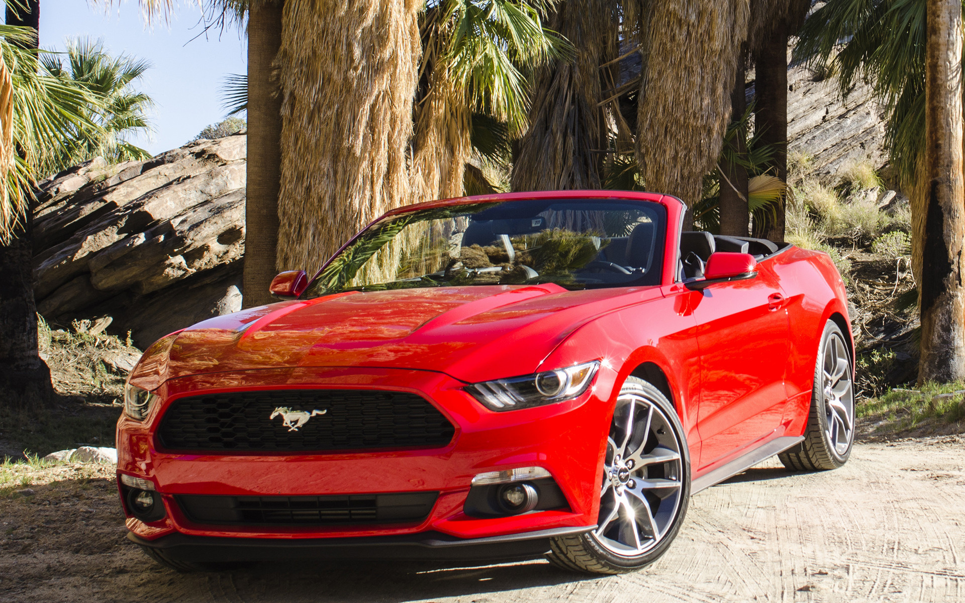 Ford Mustang EcoBoost Convertible (2015) Wallpapers and HD ...
