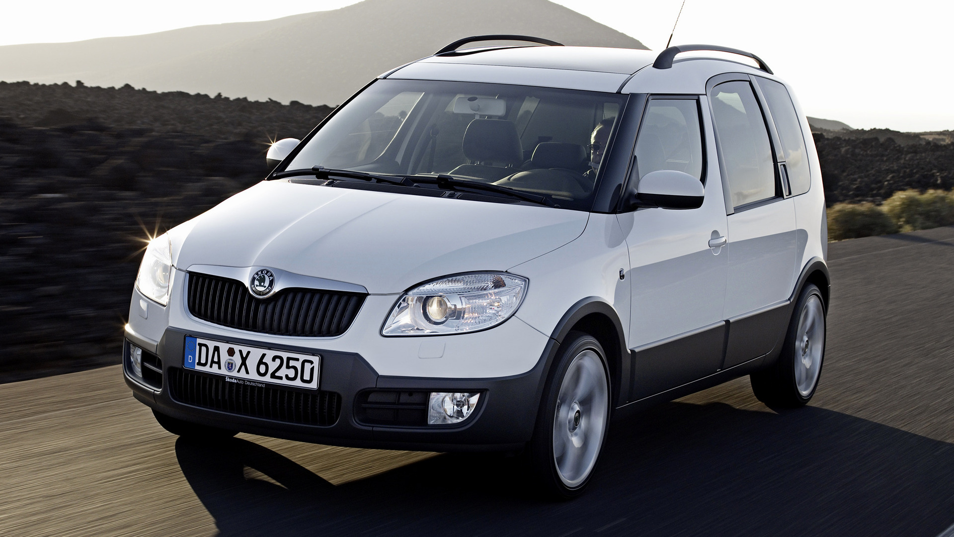 skoda roomster scout 2007 wallpapers and hd images car. Black Bedroom Furniture Sets. Home Design Ideas