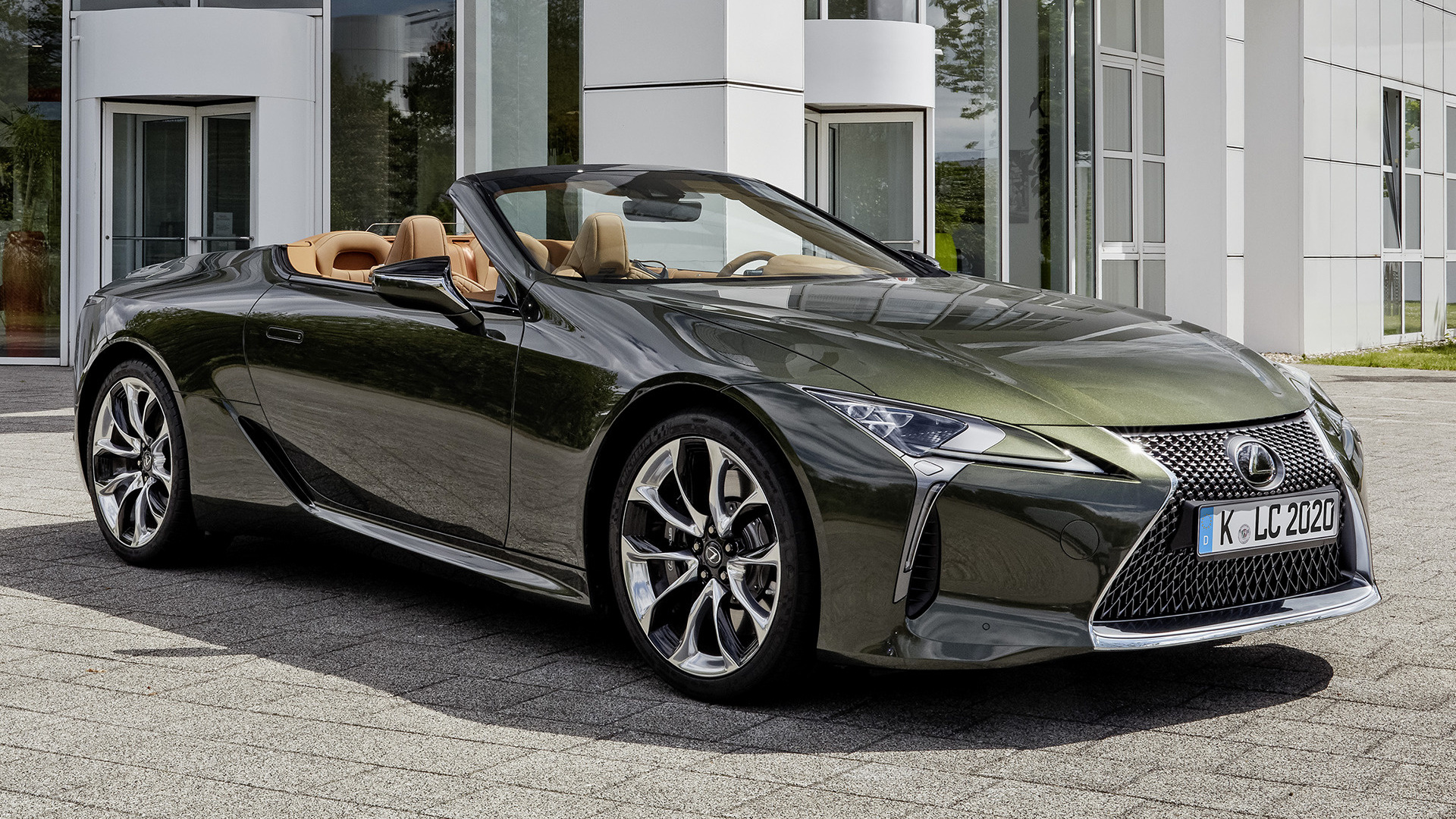 2020 lexus lc convertible - wallpapers and hd images   car