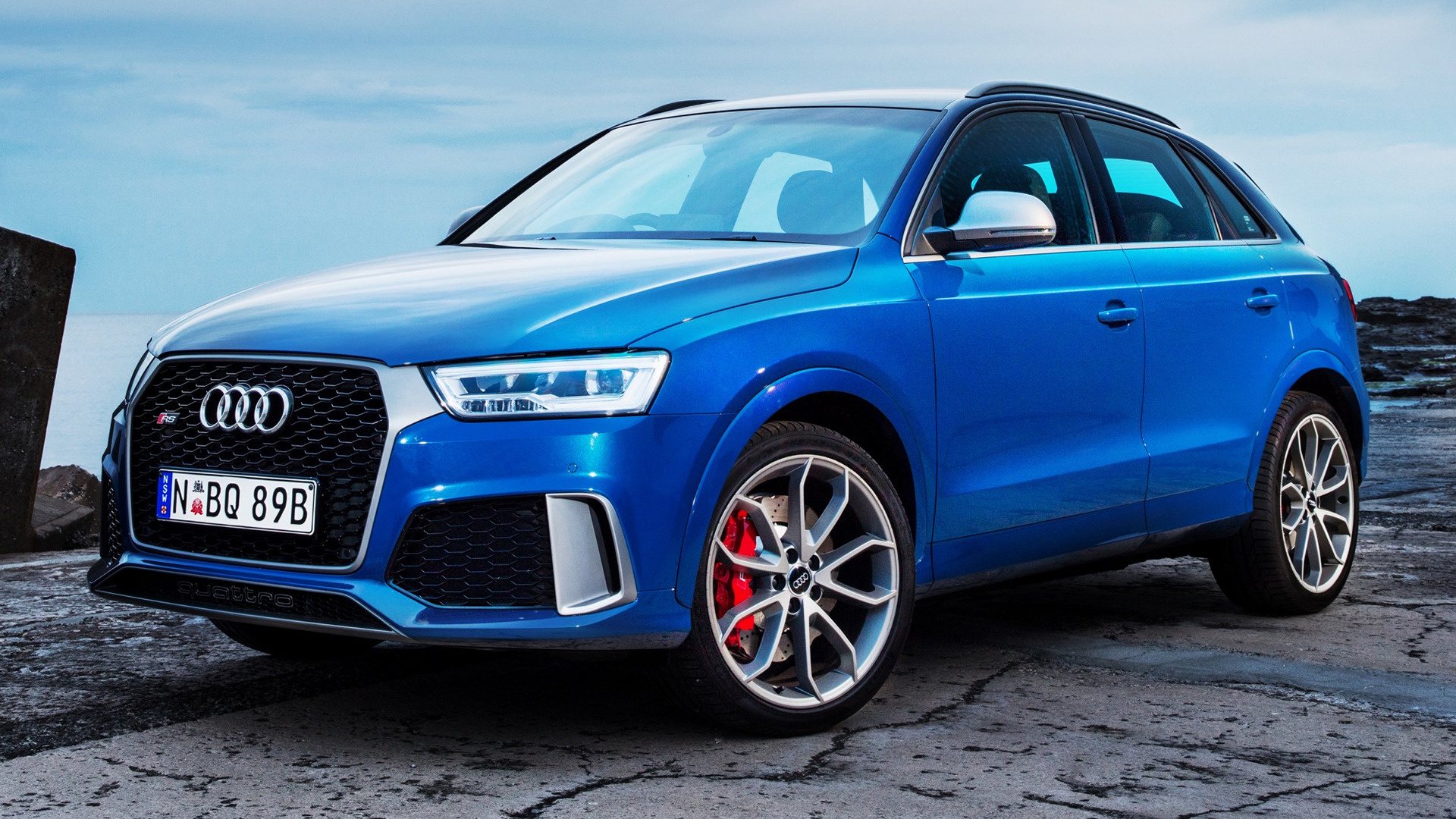 audi rs q3 performance 2016 au wallpapers and hd images. Black Bedroom Furniture Sets. Home Design Ideas