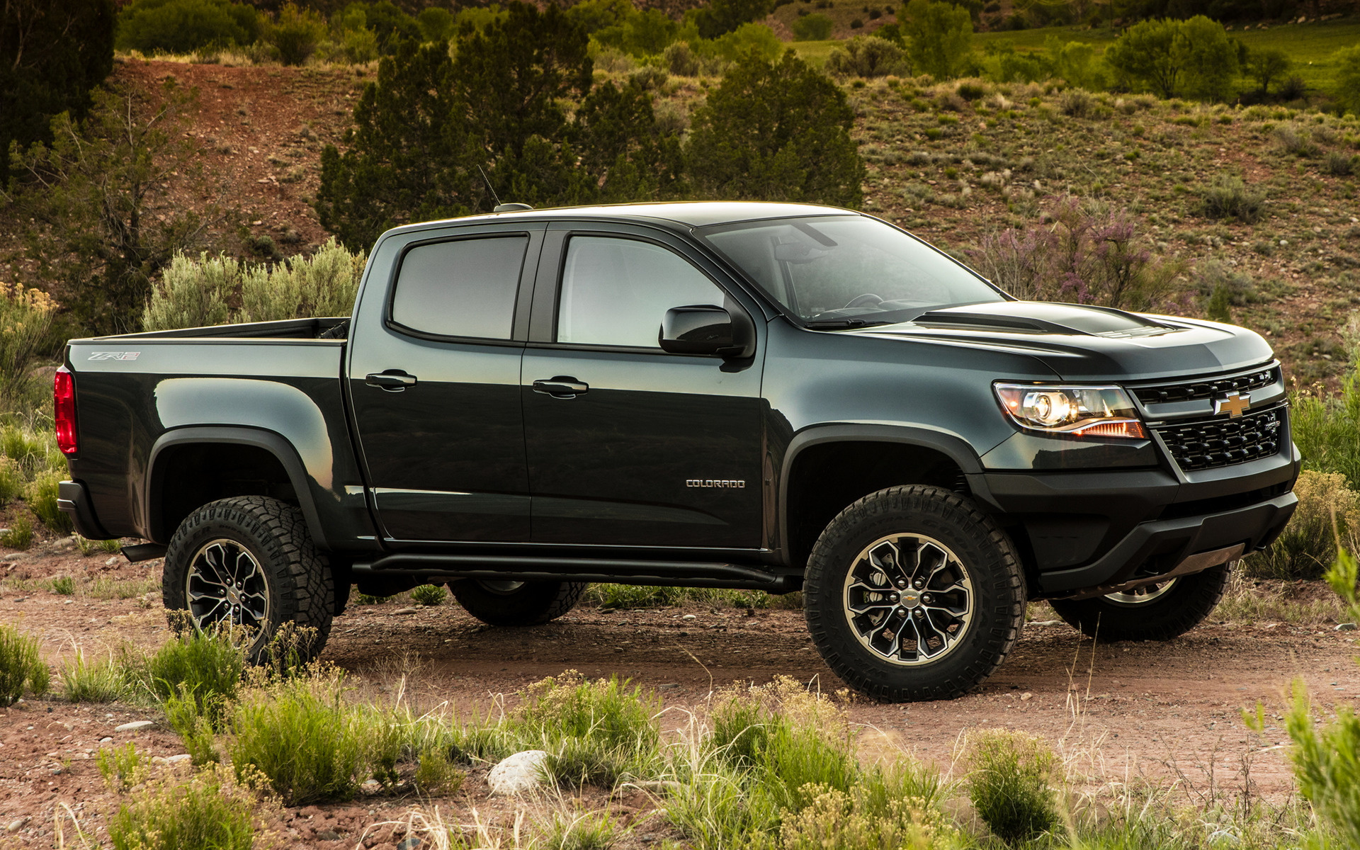 2017 Chevrolet Colorado Zr2 Crew Cab Wallpapers And Hd Images Car Pixel
