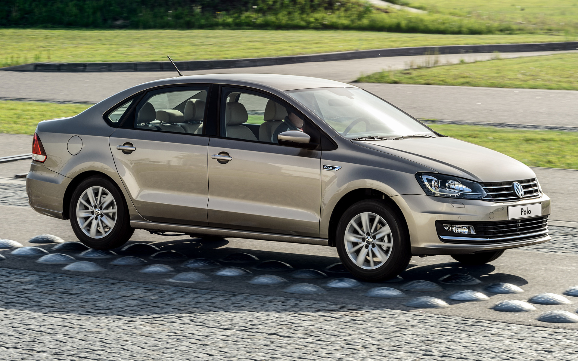 2015 Volkswagen Polo Sedan (RU) - Wallpapers and HD Images ...