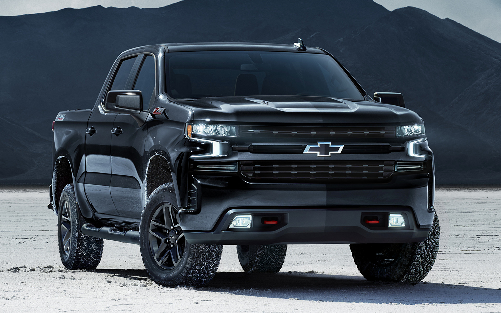 2020 Chevrolet Silverado Z71 Trail Boss Crew Cab Midnight ...