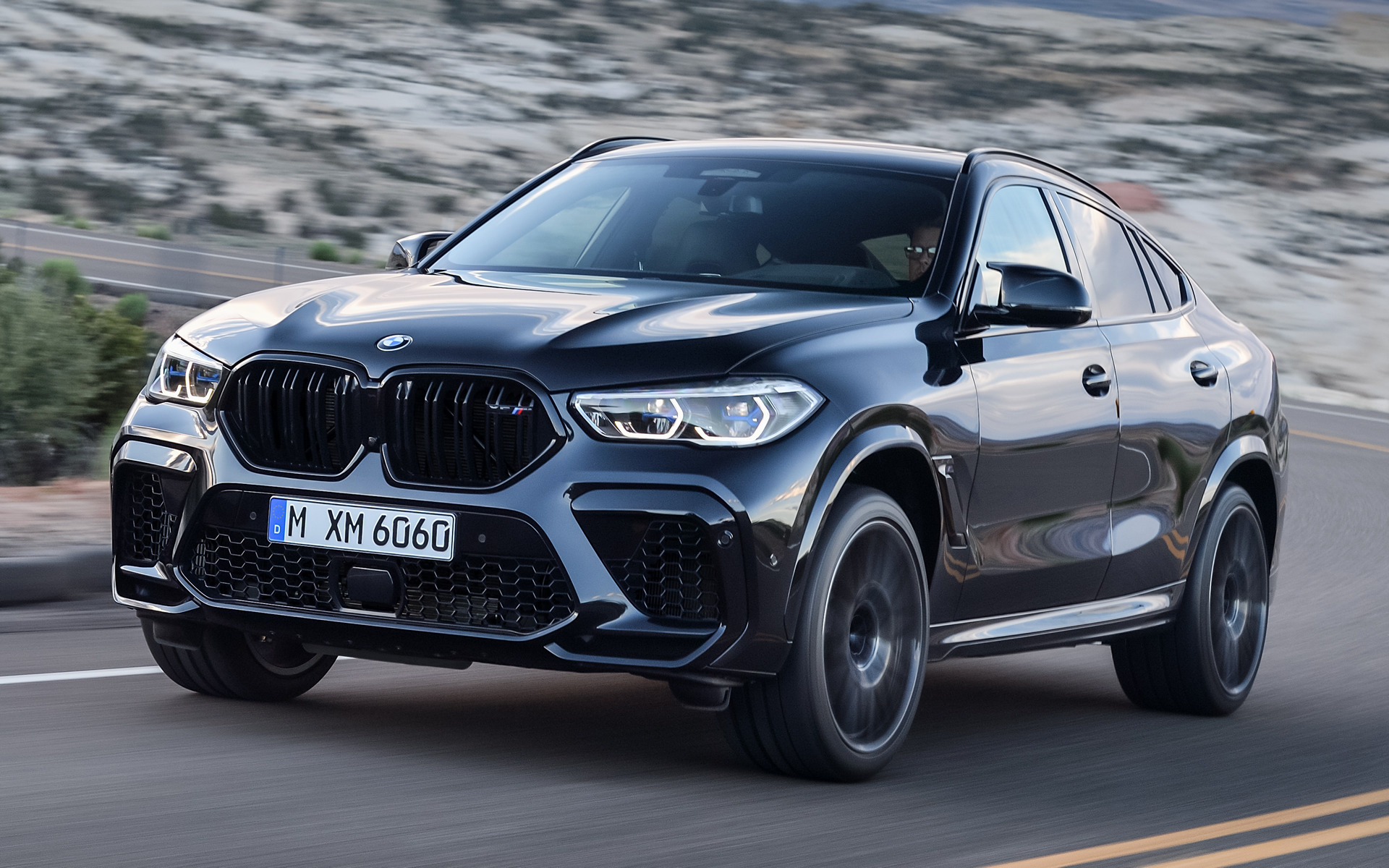 2019 BMW X6 M Competition - Wallpapers and HD Images | Car ...