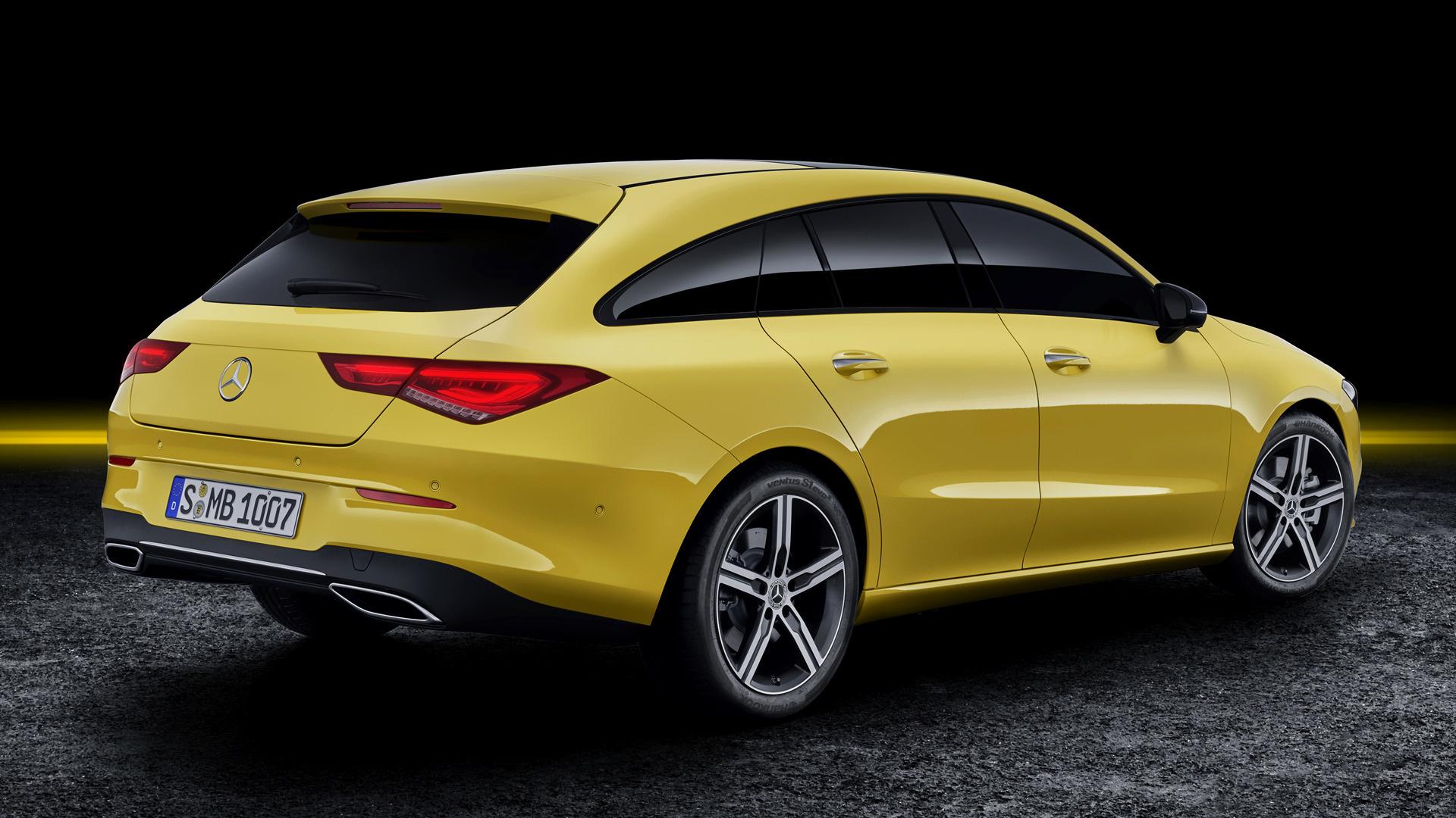 Mercedes E Class 2017 >> 2019 Mercedes-Benz CLA-Class Shooting Brake - Wallpapers ...