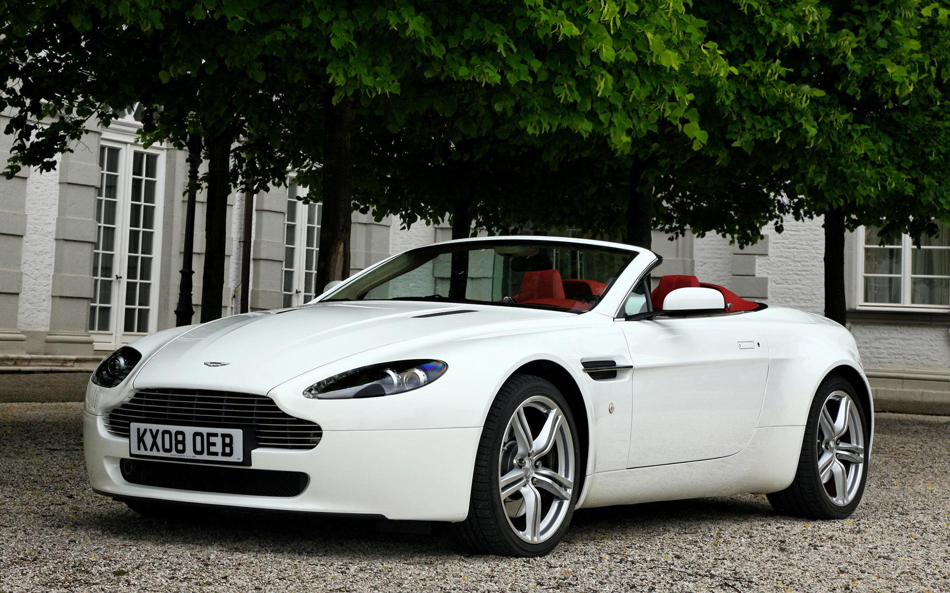 2008 Aston Martin V8 Vantage Roadster Hintergrundbilder Und Wallpaper In Hd Car Pixel