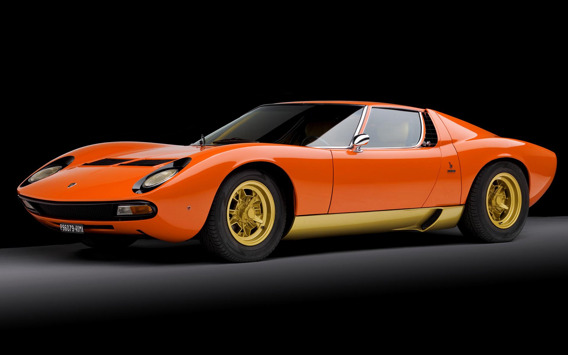 1971 Lamborghini Miura SV - Wallpapers and HD Images | Car ...