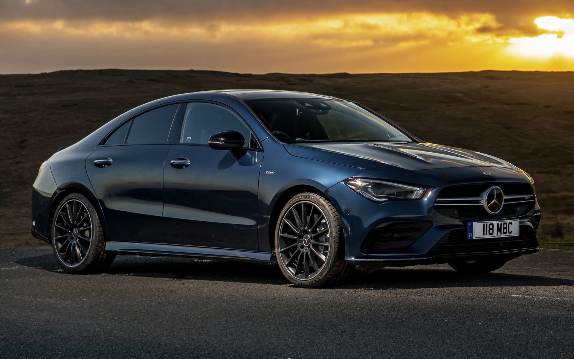 2019 Mercedes Amg Cla 35 Uk Wallpapers And Hd Images Car Pixel