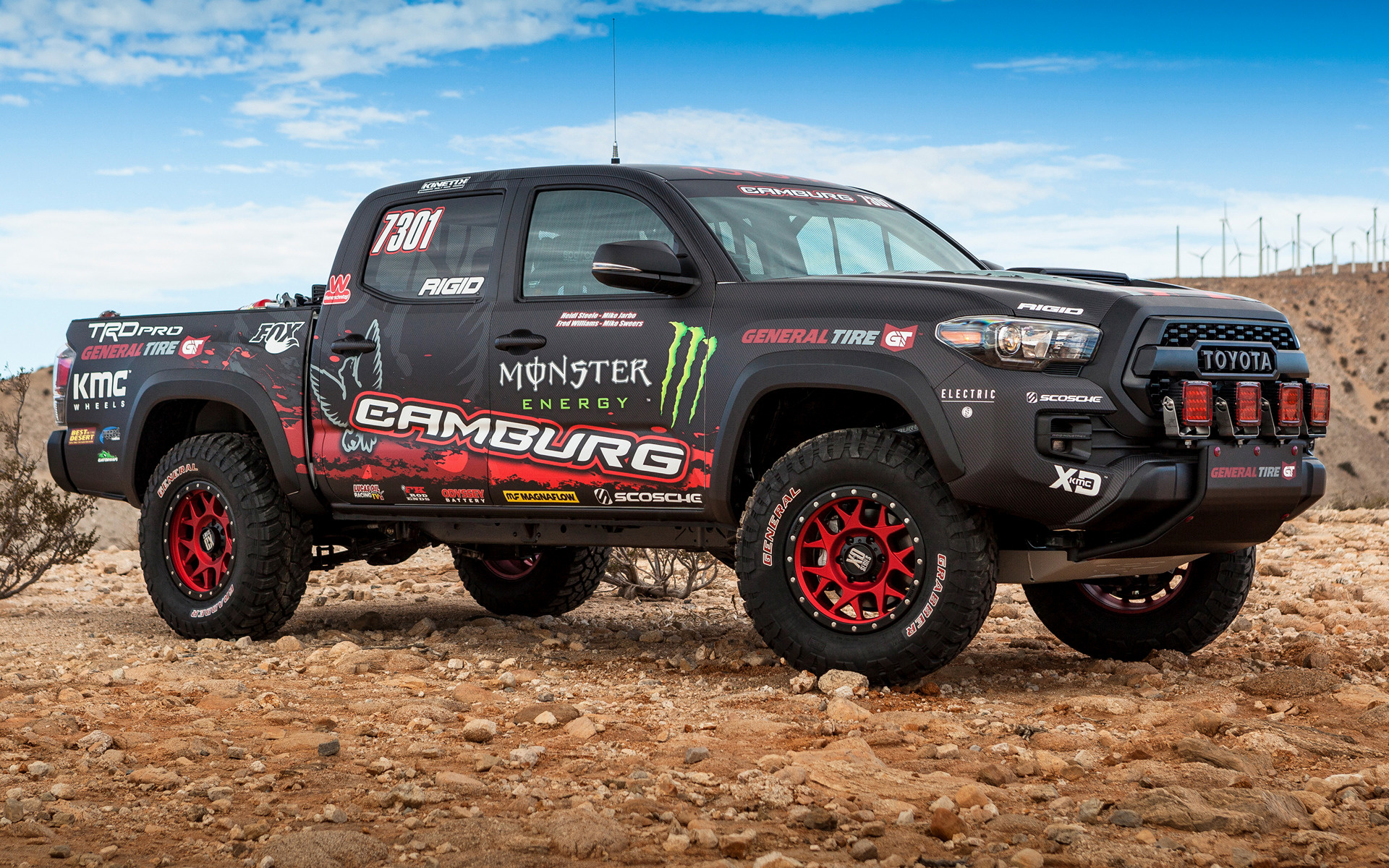 2016 Toyota Tacoma TRD Pro Race Truck - Wallpapers and HD Images | Car Pixel