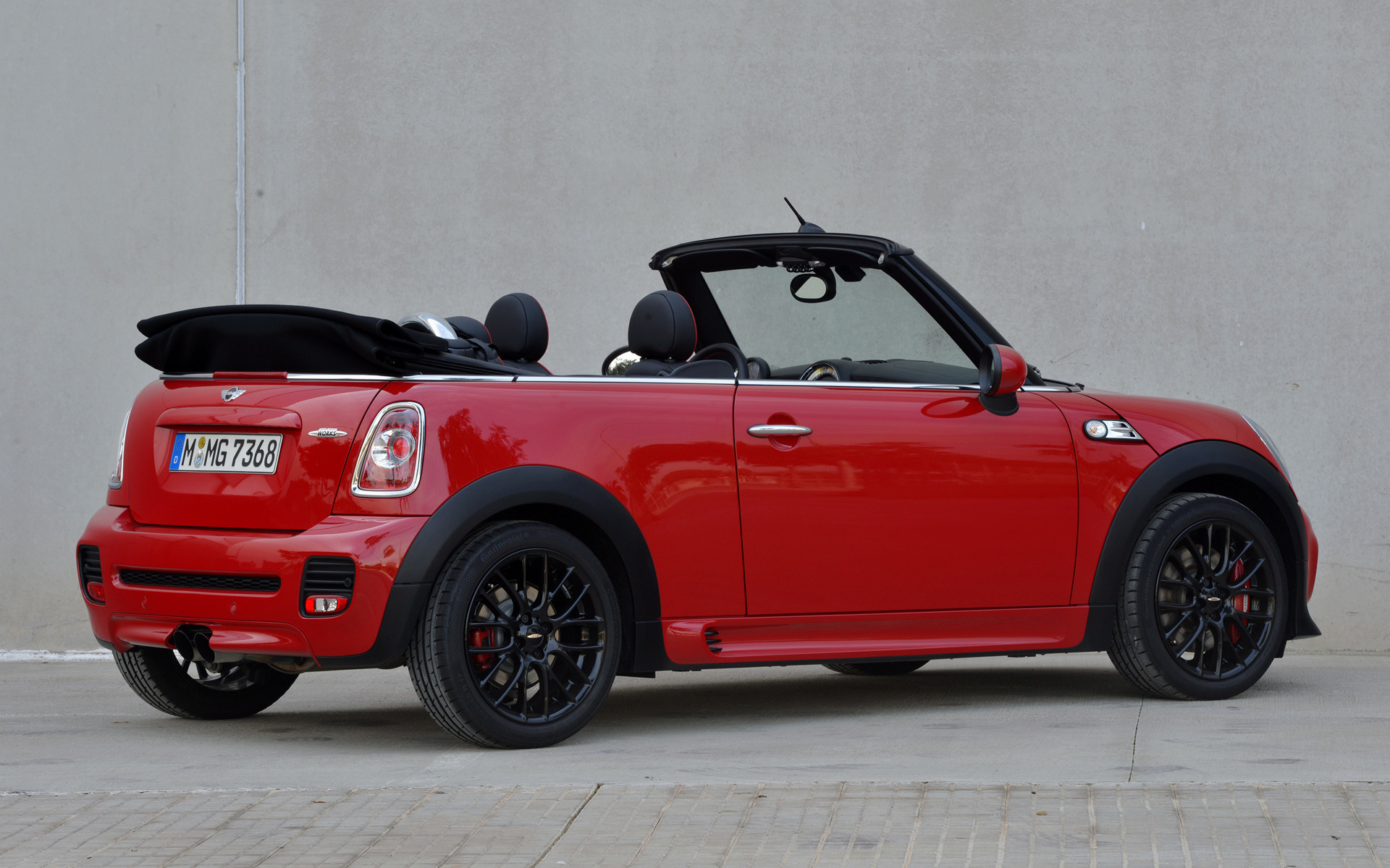 2010 Mini John Cooper Works Cabrio Wallpapers And Hd Images Car