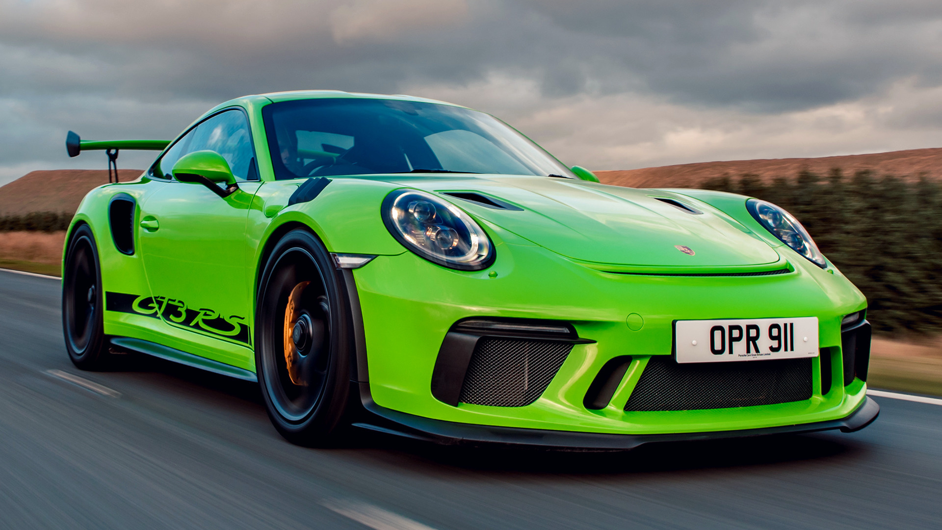 2018 Porsche 911 Gt3 Rs Uk Wallpapers And Hd Images