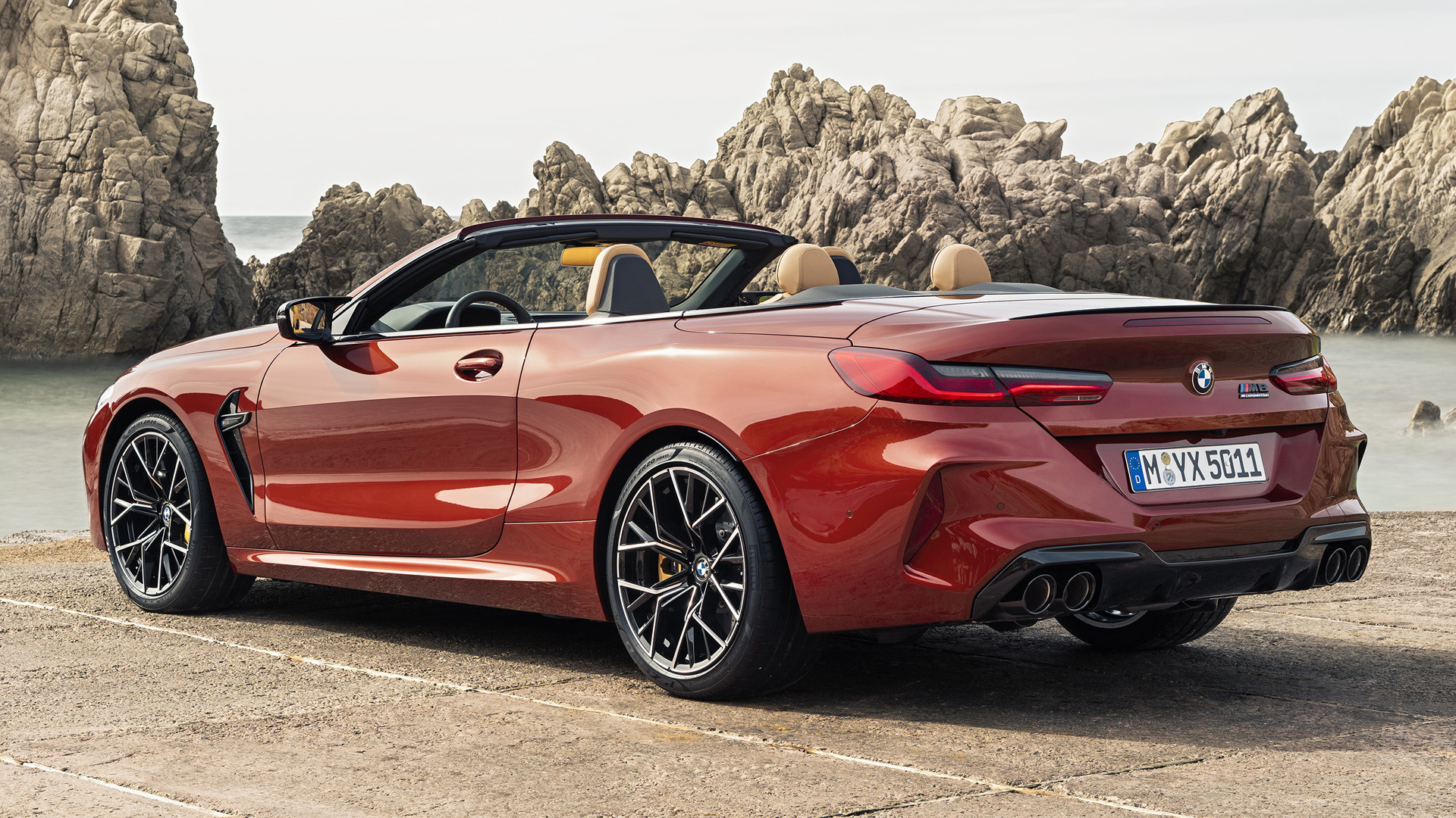 2019 Bmw M8 Convertible Competition Wallpapers And Hd Images Car