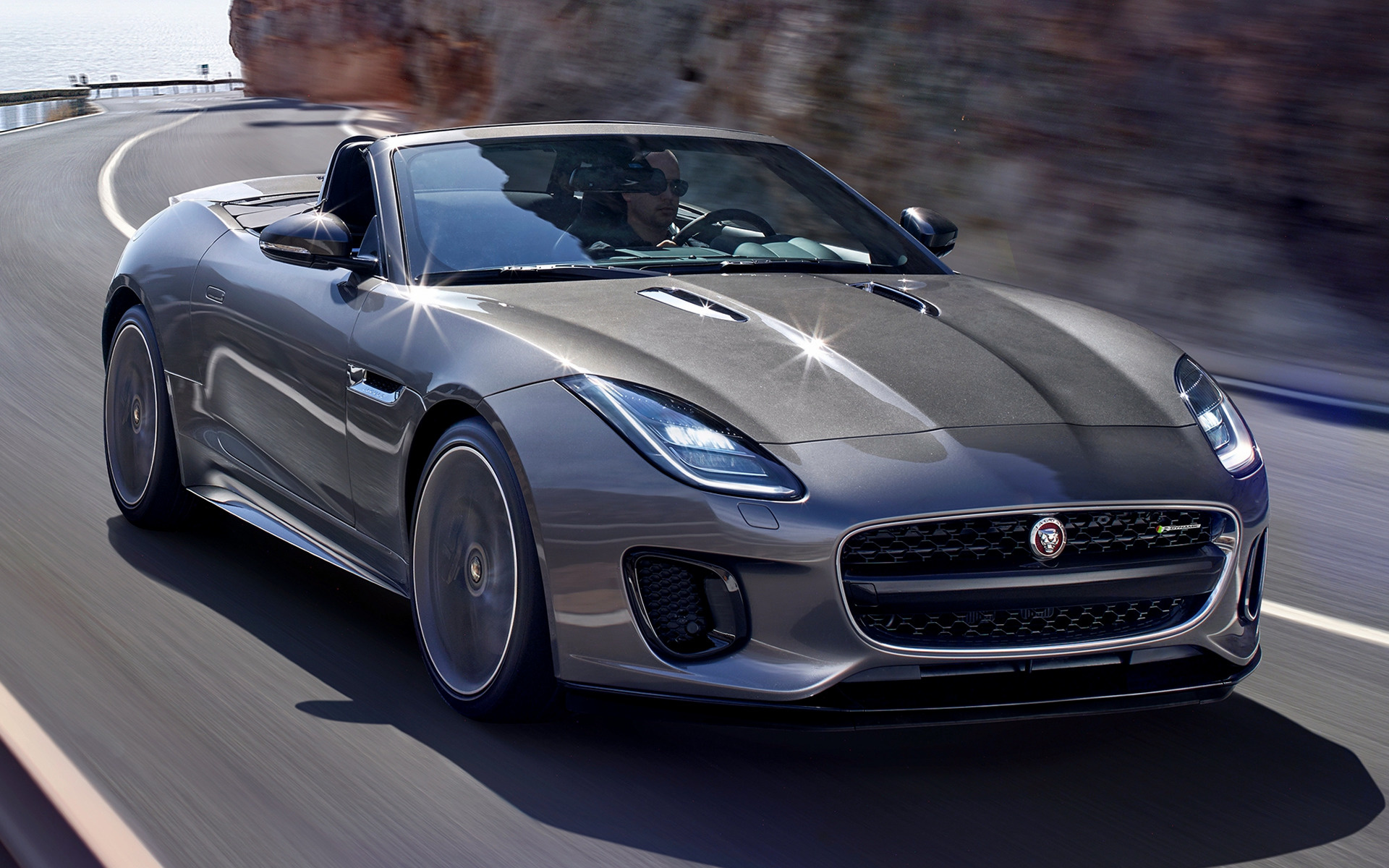 2017 Jaguar F-Type Convertible R-Dynamic - Wallpapers and ...