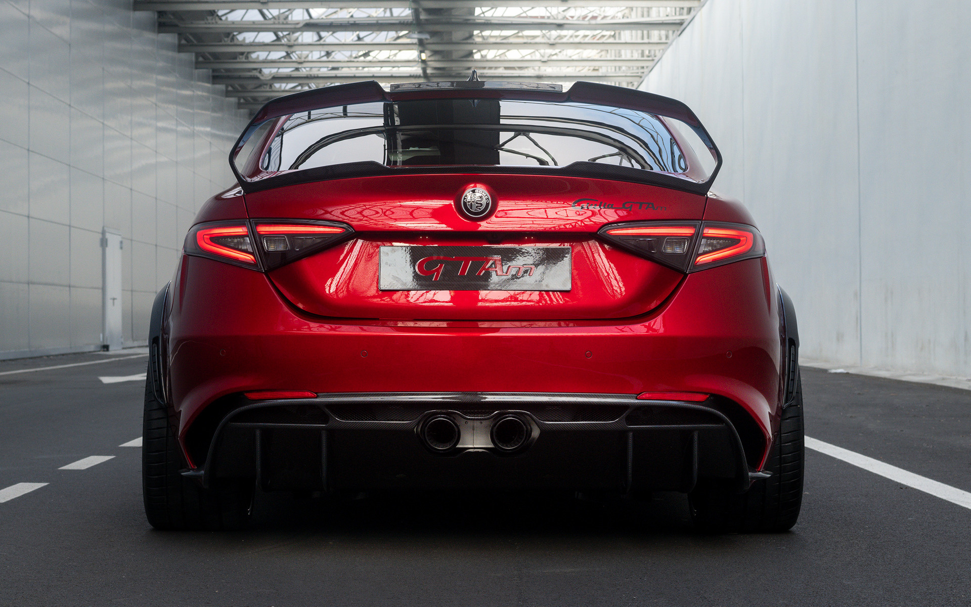 rmeo_2020 Alfa Romeo Giulia GTAm - Wallpapers and HD Images | Car Pixel