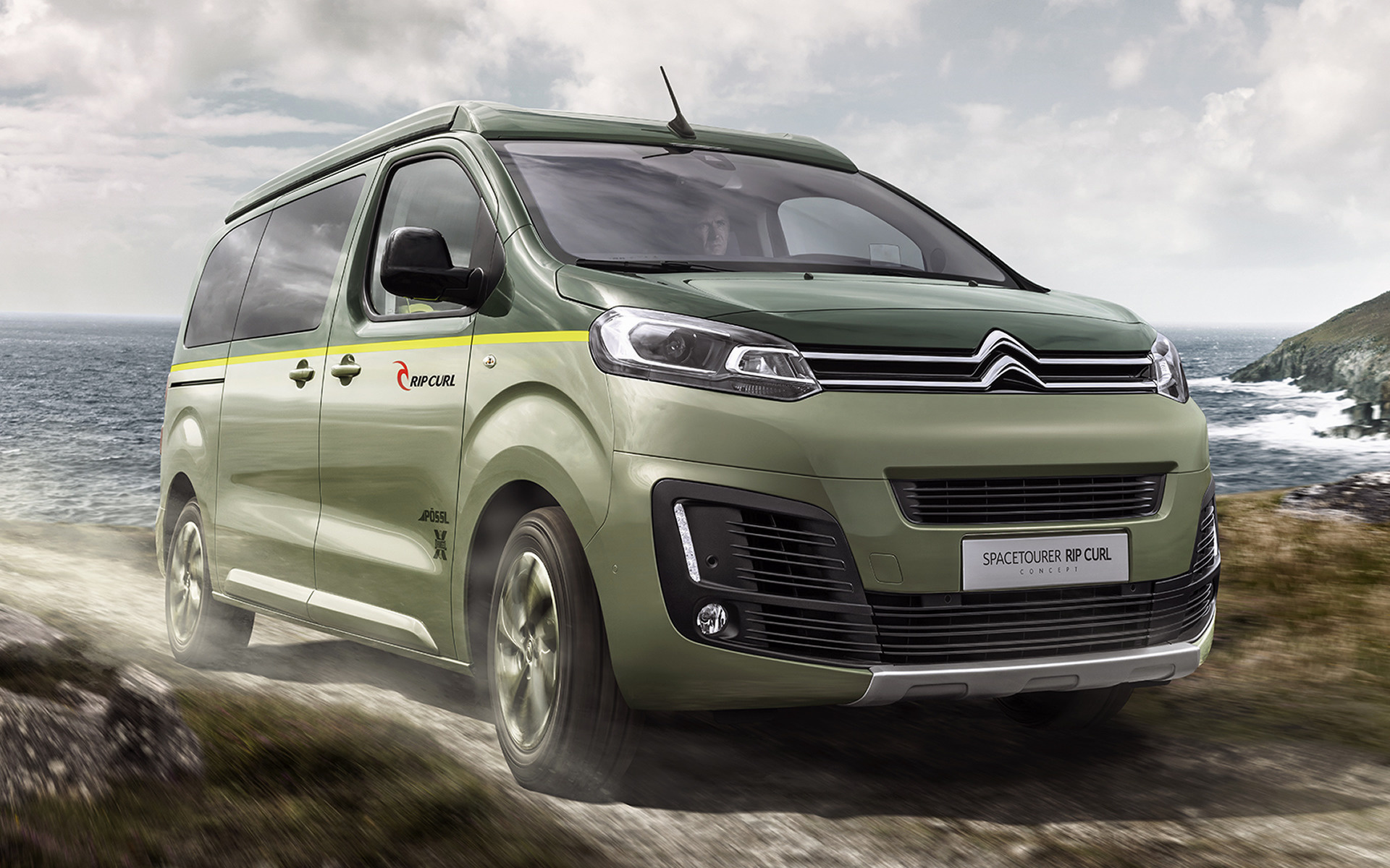 citroen spacetourer rip curl concept 2017 wallpapers and hd images car pixel. Black Bedroom Furniture Sets. Home Design Ideas
