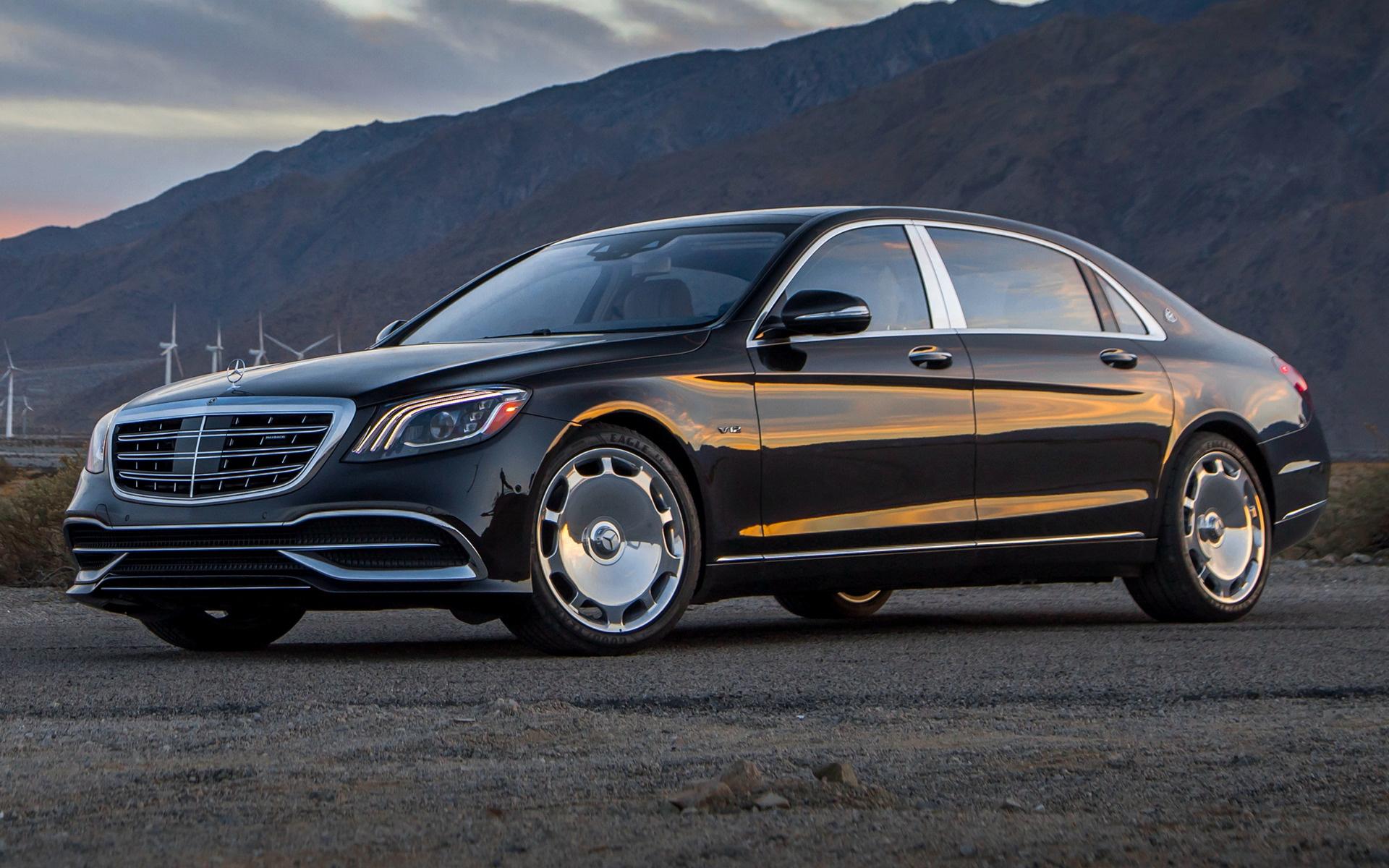 2018 Mercedes Maybach S Class Us Fondos De Pantalla E