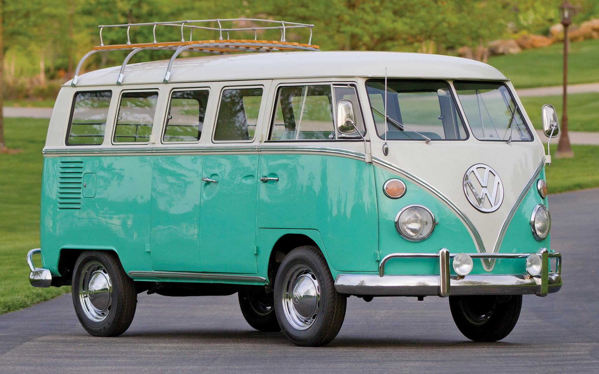 1964 Volkswagen T1 Deluxe Bus Wallpapers And Hd Images