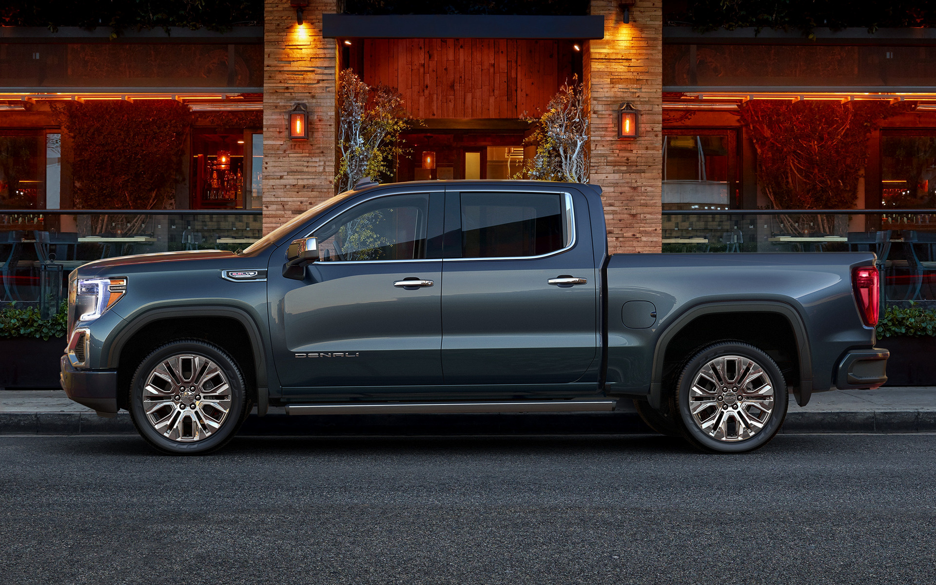 GMC Sierra Denali Crew Cab 2019 Wallpapers And HD Images