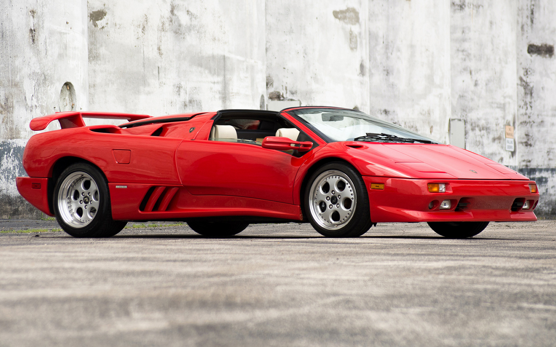 Lamborghini Diablo Vt Roadster 1995 Us Wallpapers And Hd