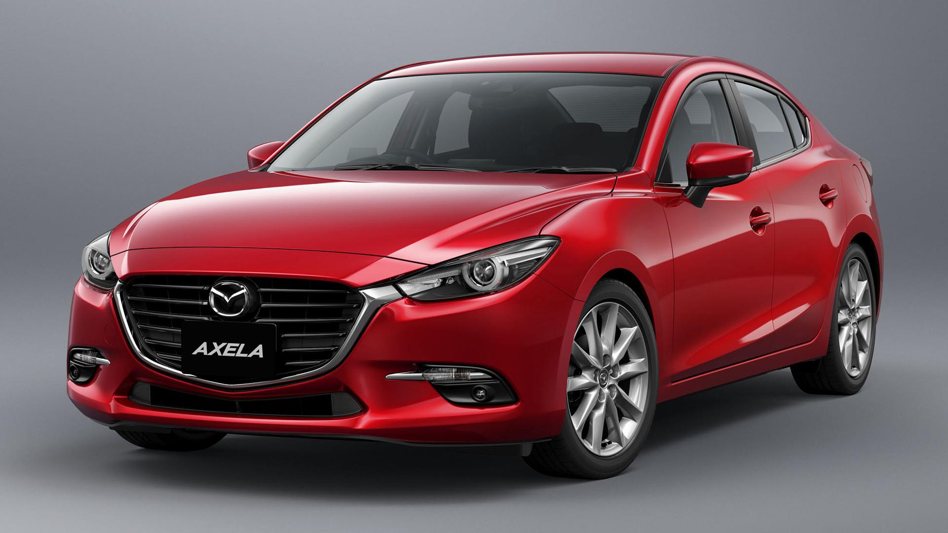 2016 Mazda Axela Sedan Wallpapers And Hd Images Car Pixel