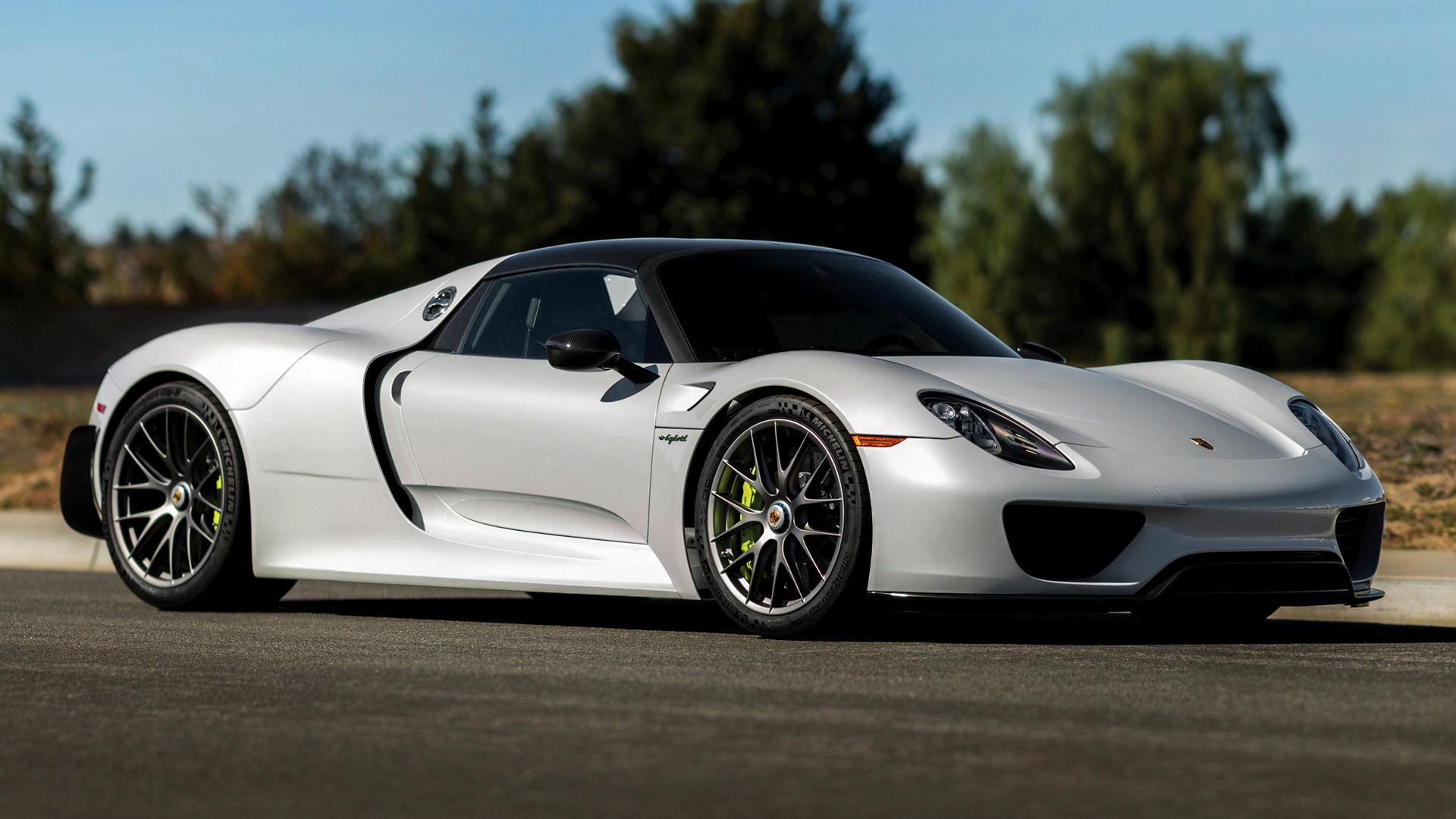 porsche 918 spyder weissach package 2014 us wallpapers. Black Bedroom Furniture Sets. Home Design Ideas