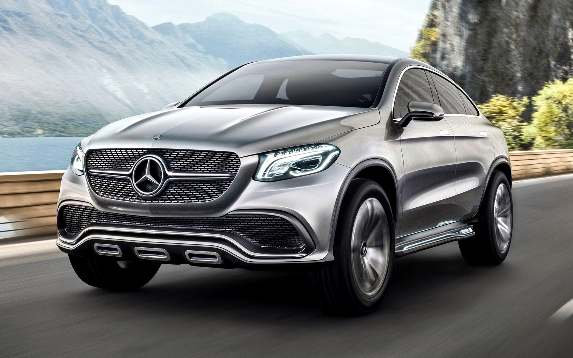 Mercedes-Benz Concept Coupe SUV (2014) Wallpapers and HD Images - Car Pixel