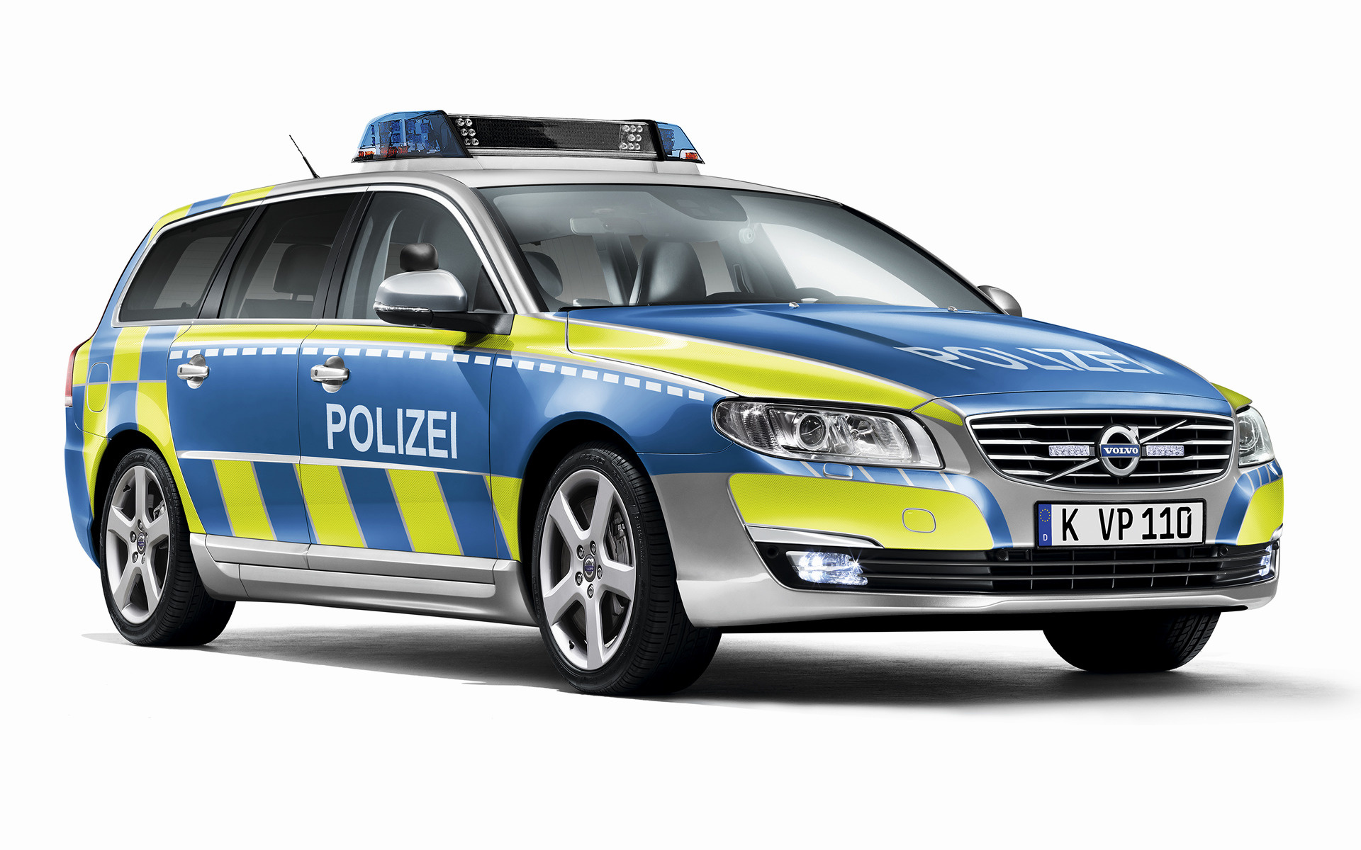 Volvo V70 Polizei 2014 Wallpapers And Hd Images Car Pixel