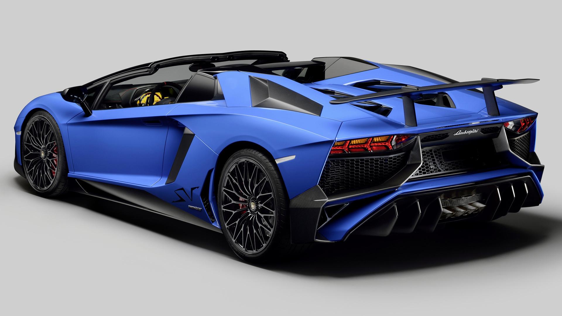 Lamborghini Aventador LP 750-4 SuperVeloce Roadster (2015 ...