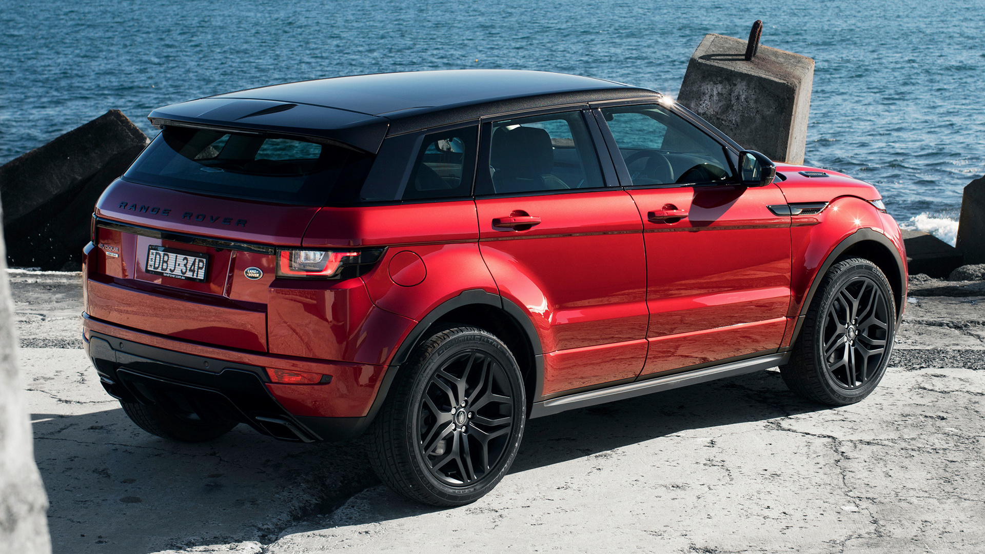 Range Rover Evoque Convertible >> 2015 Range Rover Evoque HSE Dynamic (AU) - Wallpapers and ...