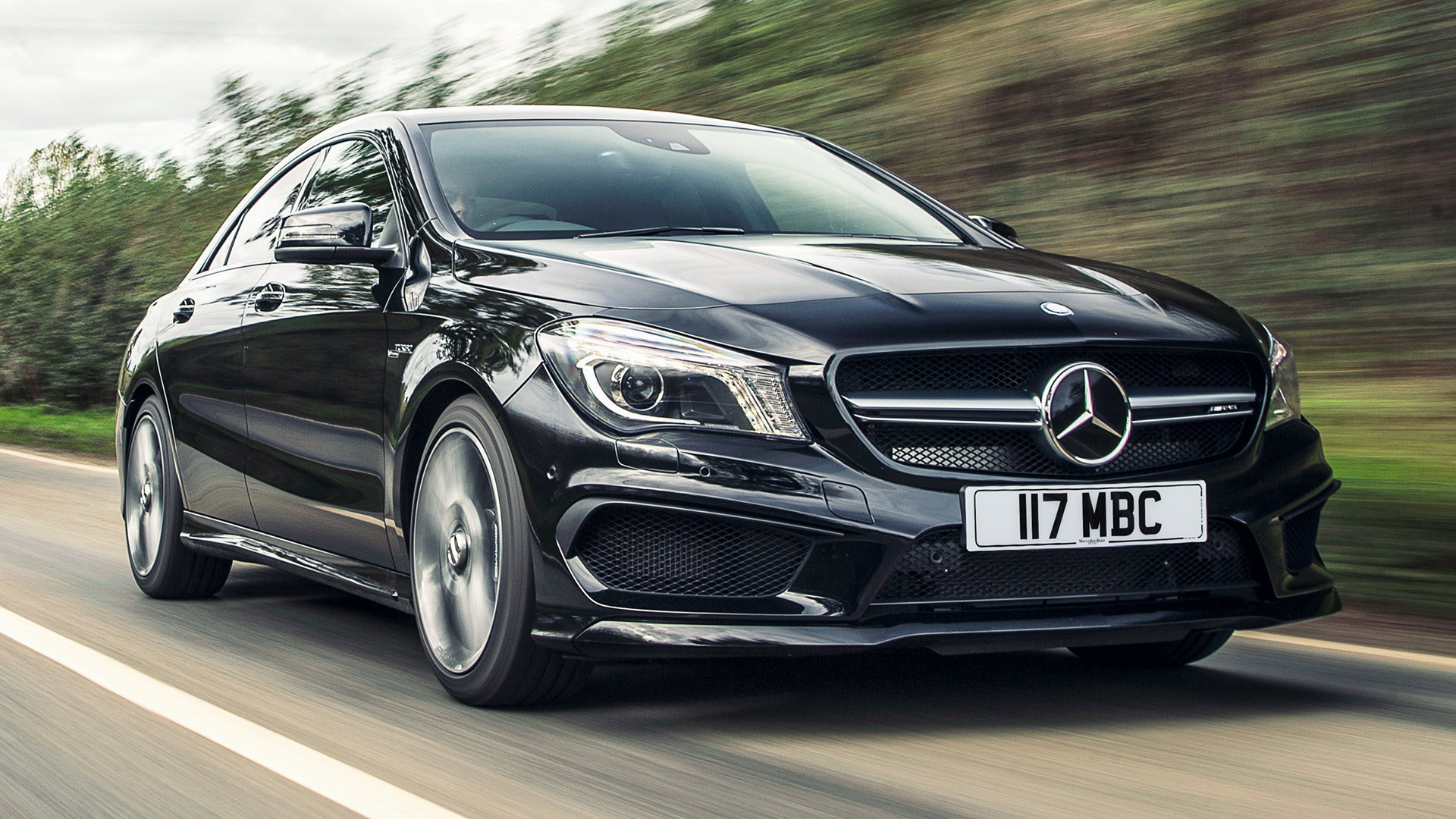 Mercedes Benz CLA 45 AMG 2013 UK Wallpapers and HD