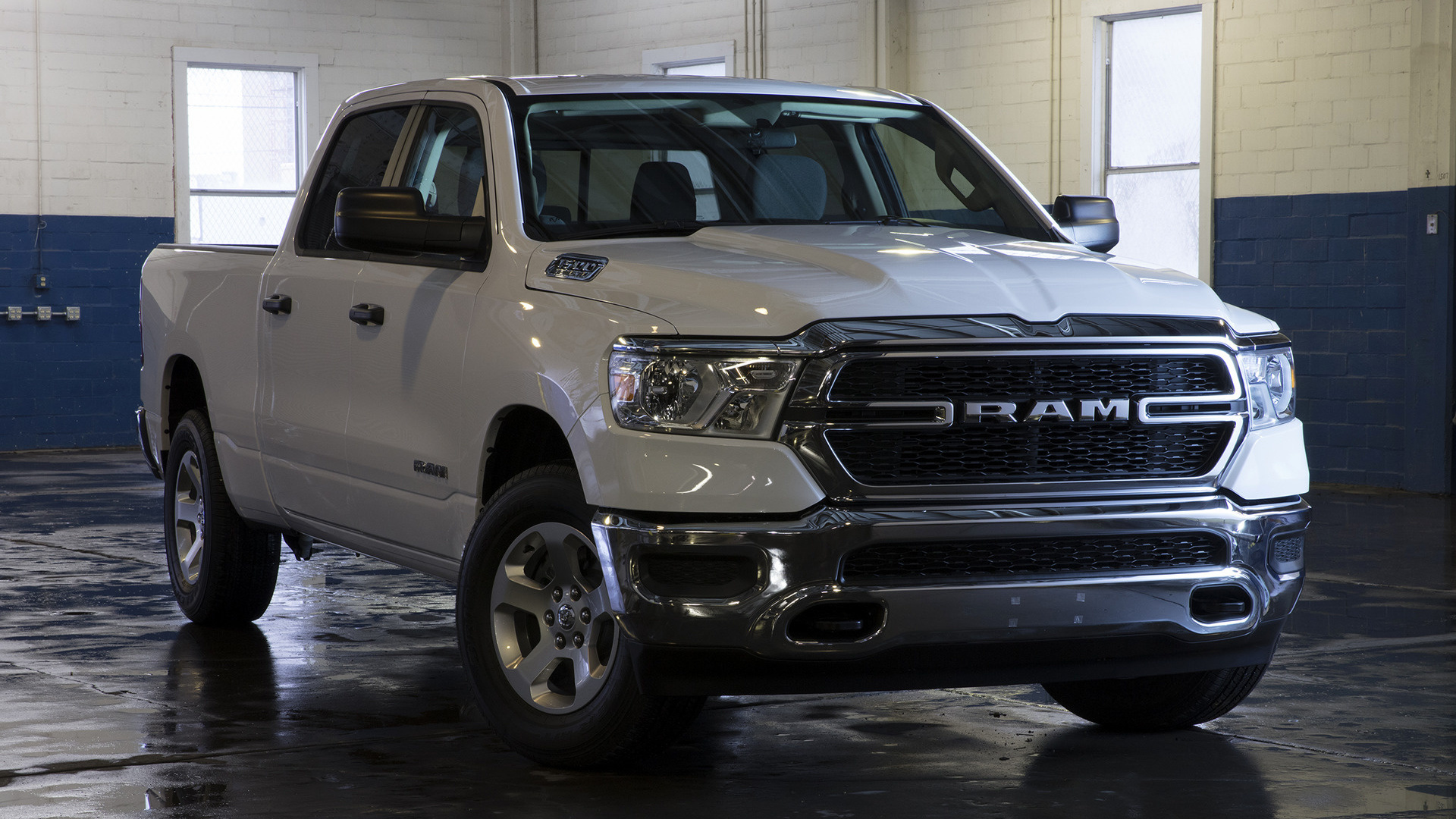 New Ram Truck >> 2019 Ram 1500 Tradesman Crew Cab Chrome Appearance Package [Short] - Wallpapers and HD Images ...