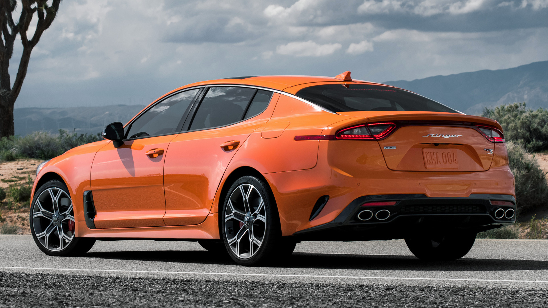 2019 Kia Stinger Gts Us Wallpapers And Hd Images Car