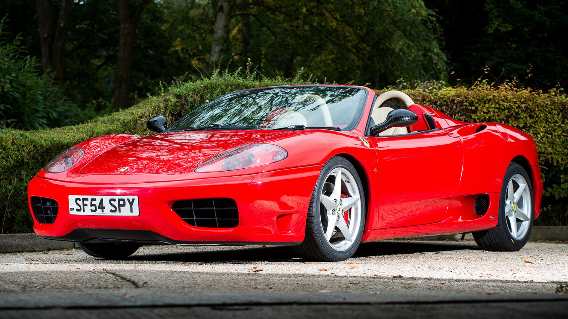 2000 Ferrari 360 Spider Uk Hintergrundbilder Und Wallpaper In Hd Car Pixel