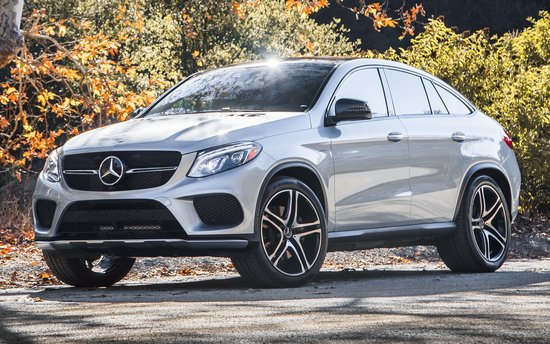 2017 Mercedes Amg Gle 43 Coupe Us Wallpapers And Hd