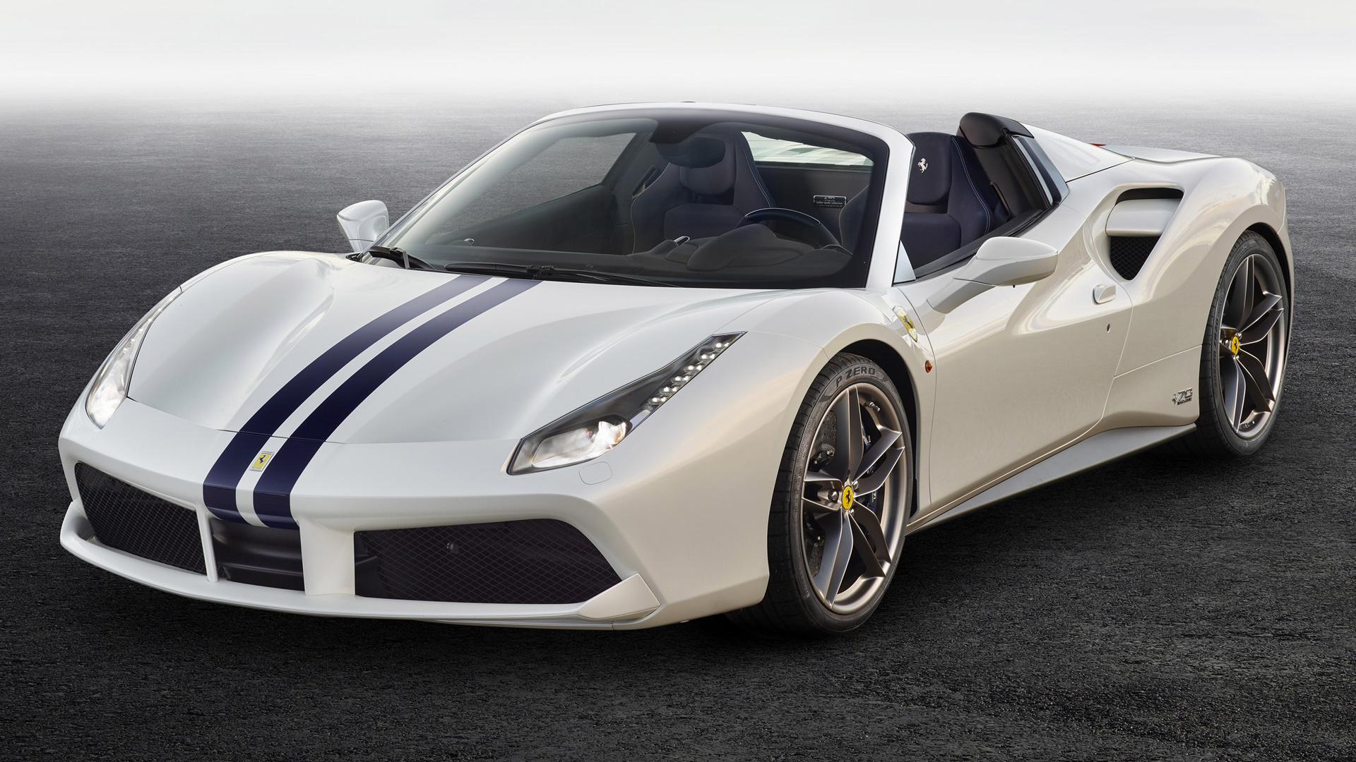 Ferrari 488 Spider The White Spider 2017 Wallpapers And