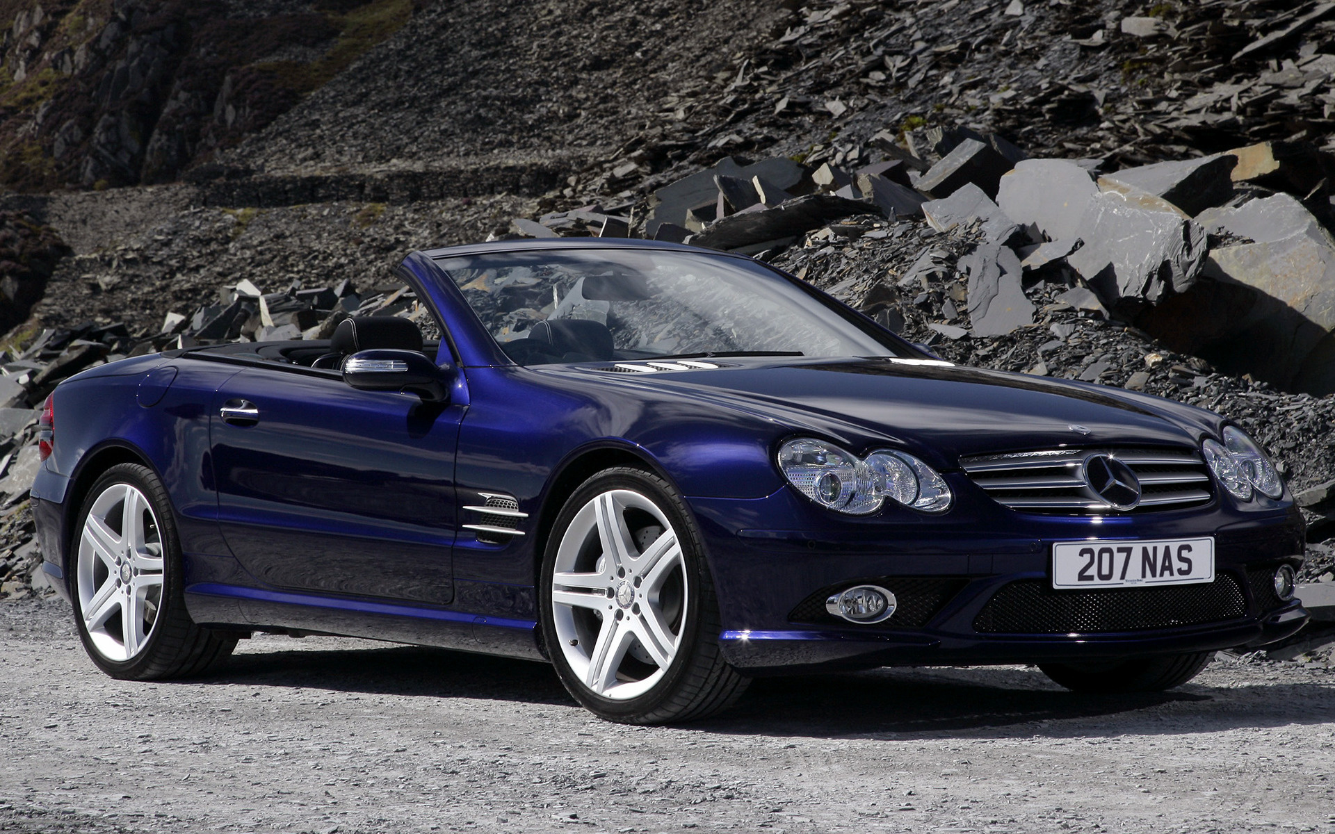 2006 Mercedes-Benz SL-Class AMG Styling (UK) - Wallpapers