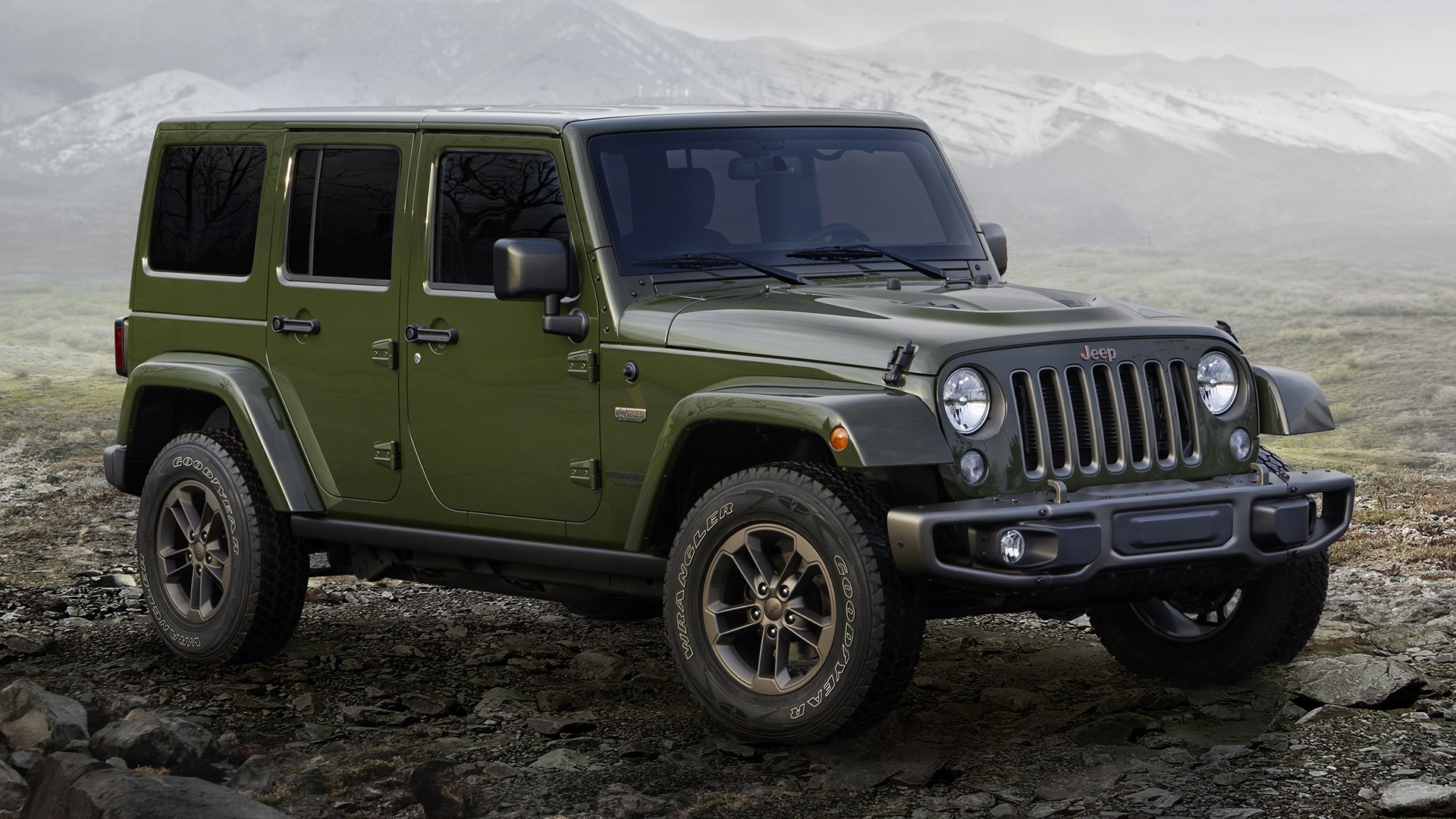 jeep wrangler unlimited 75th anniversary 2016 wallpapers