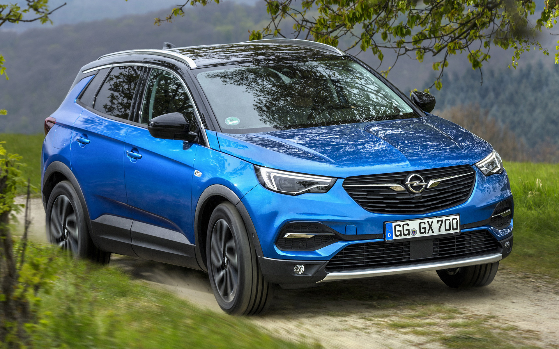 opel grandland x 2017 wallpapers and hd images car pixel. Black Bedroom Furniture Sets. Home Design Ideas