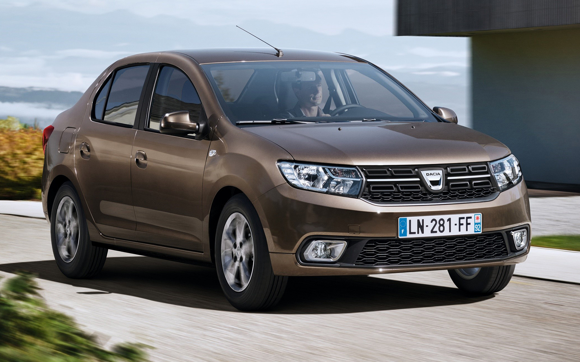 dacia logan 2016 wallpapers and hd images car pixel. Black Bedroom Furniture Sets. Home Design Ideas