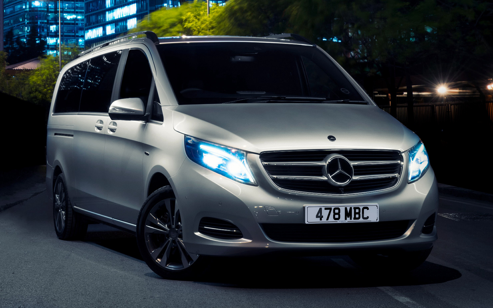 Mercedes-Benz V-Class [ExtraLong] (2015) UK Wallpapers and HD Images ...