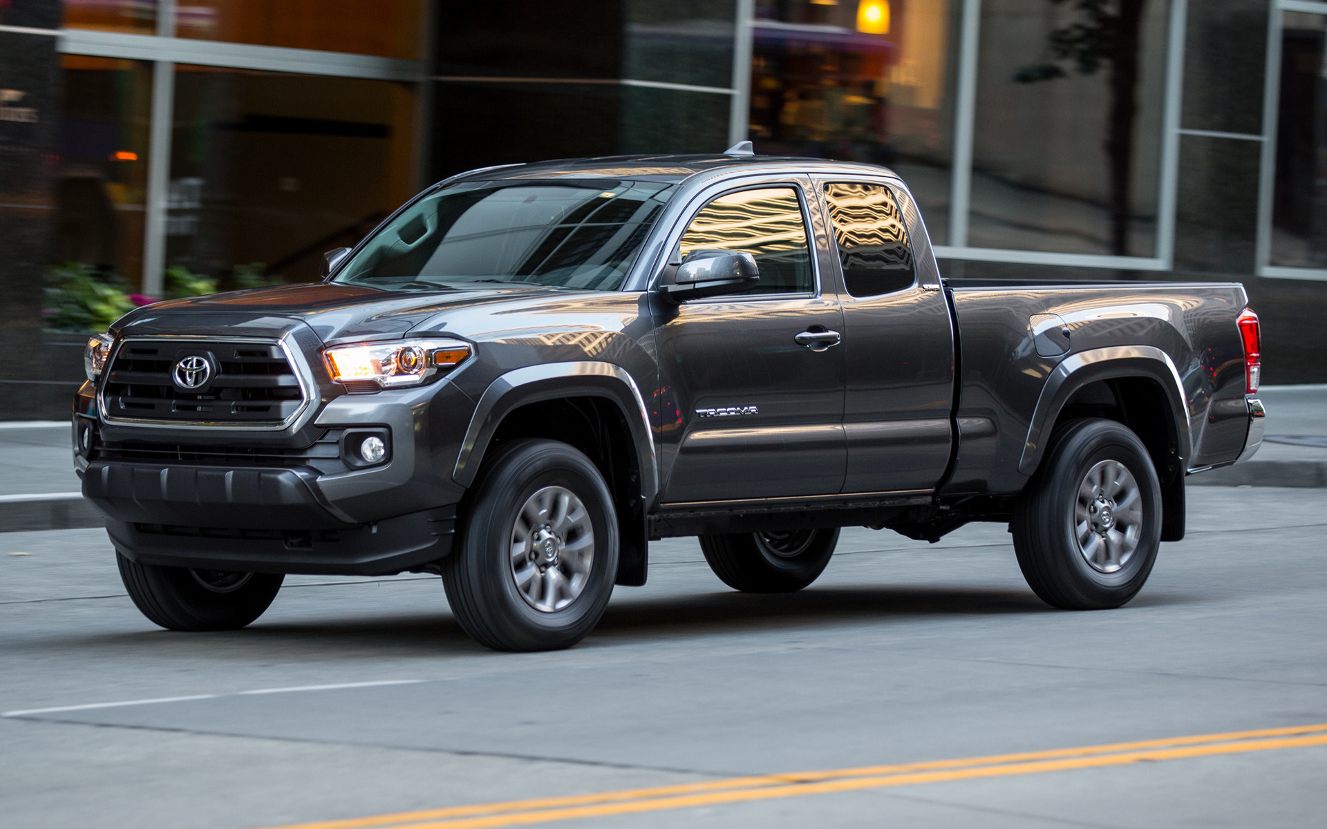 2016 Toyota Tacoma Access Cab >> 2016 Toyota Tacoma SR5 Access Cab - Wallpapers and HD Images | Car Pixel