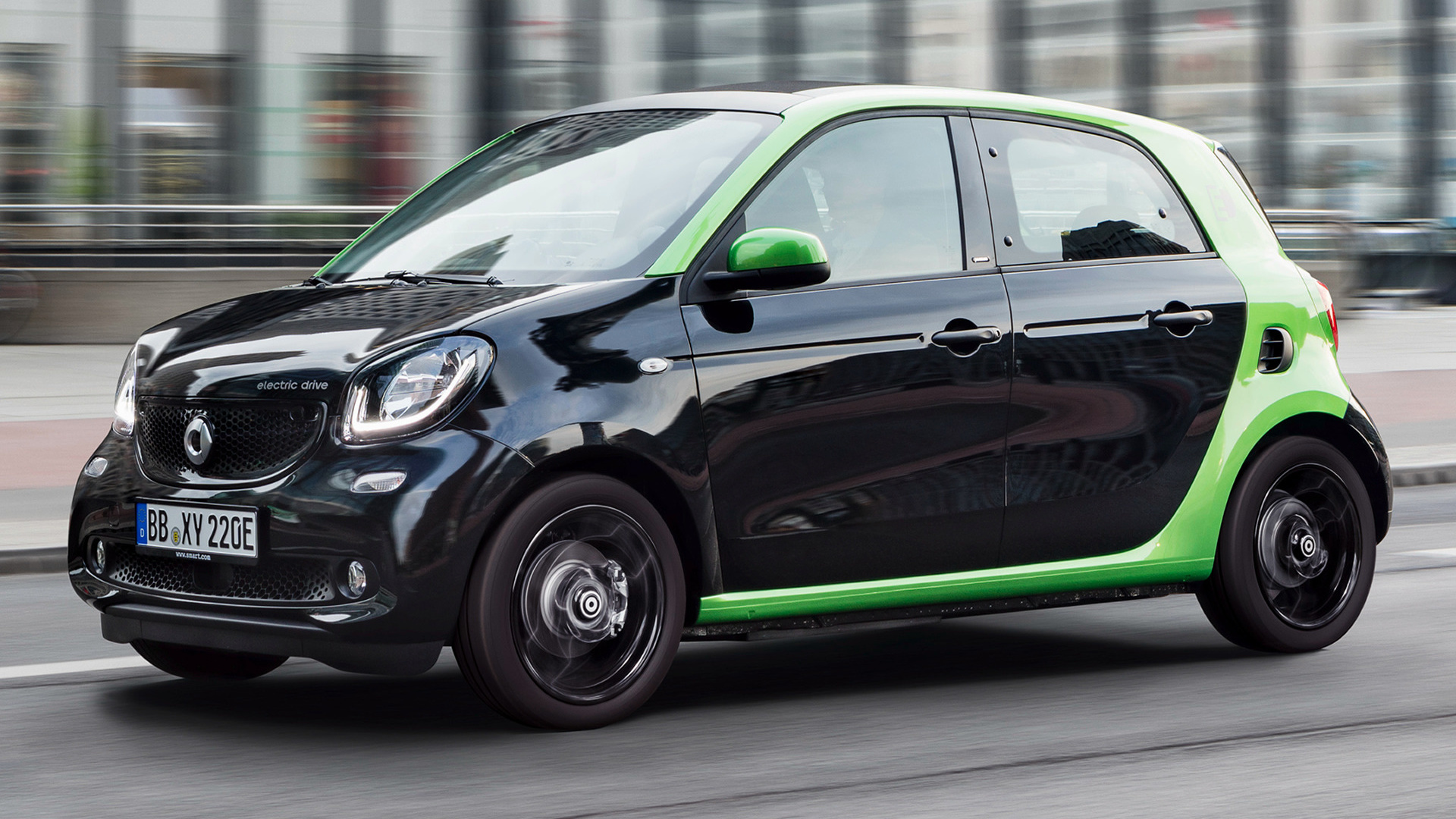 Smart Forfour electric drive (2017) Wallpapers and HD Images - Car Pixel