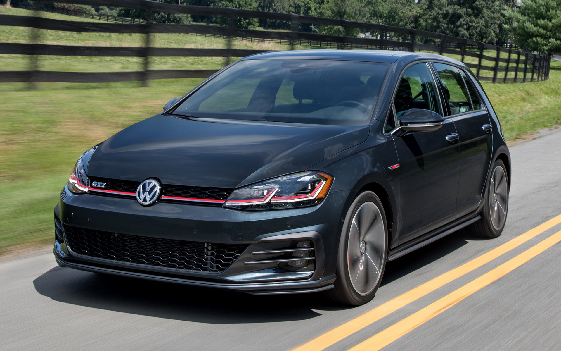 Volkswagen Golf GTI 5 Door 2018 US Wallpapers And HD Images