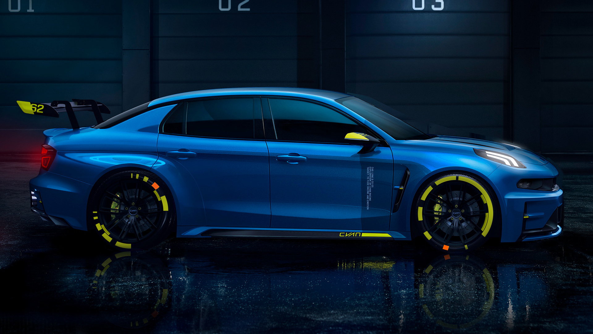 2018 Lynk & Co 03 Cyan Concept - Wallpapers and HD Images ...