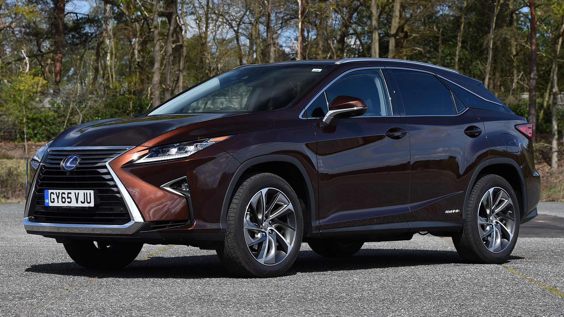 2015 Lexus RX Hybrid (UK) - Wallpapers And HD Images