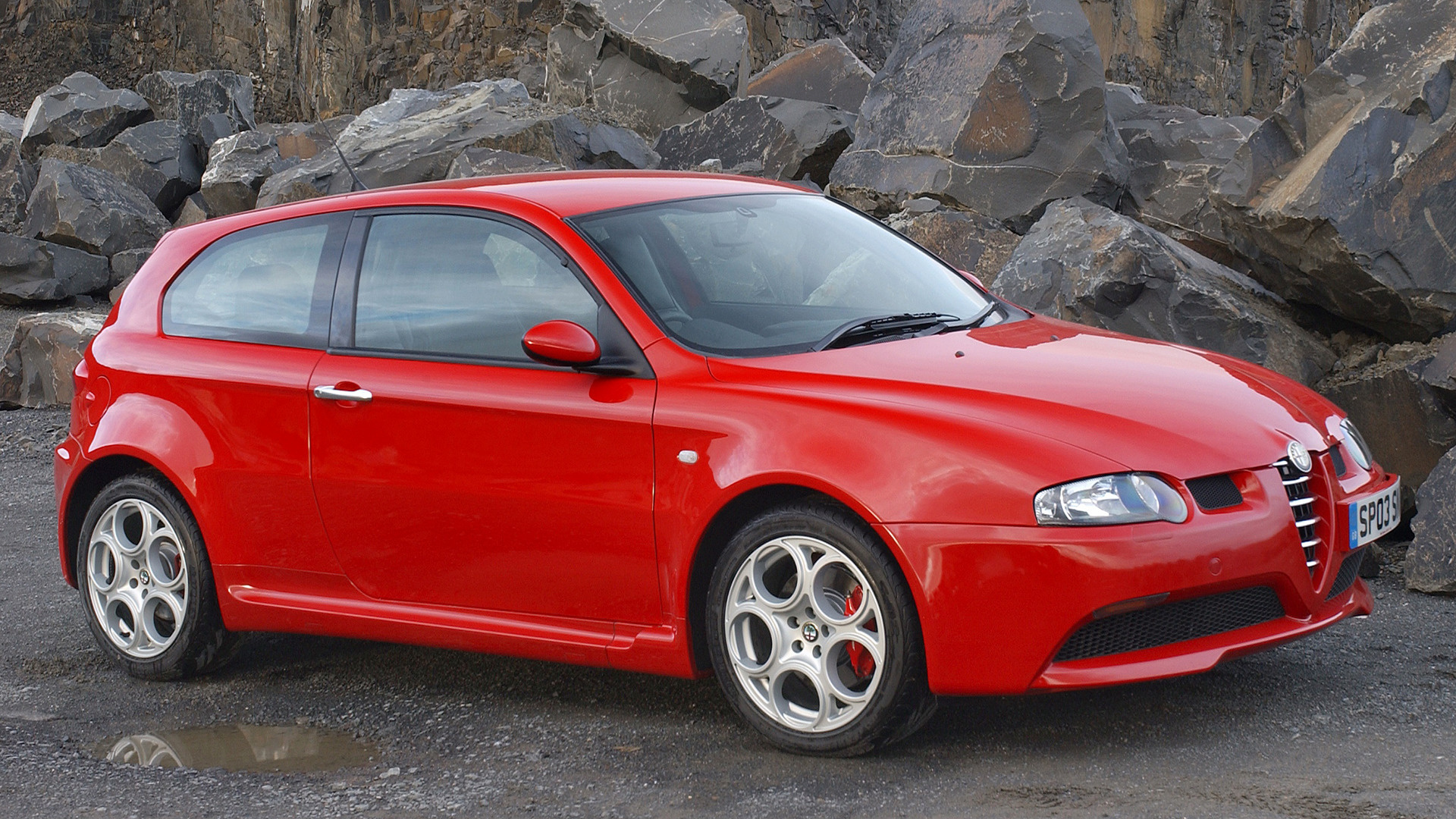 2003 Alfa Romeo 147 Gta Uk Wallpapers And Hd Images Car Pixel