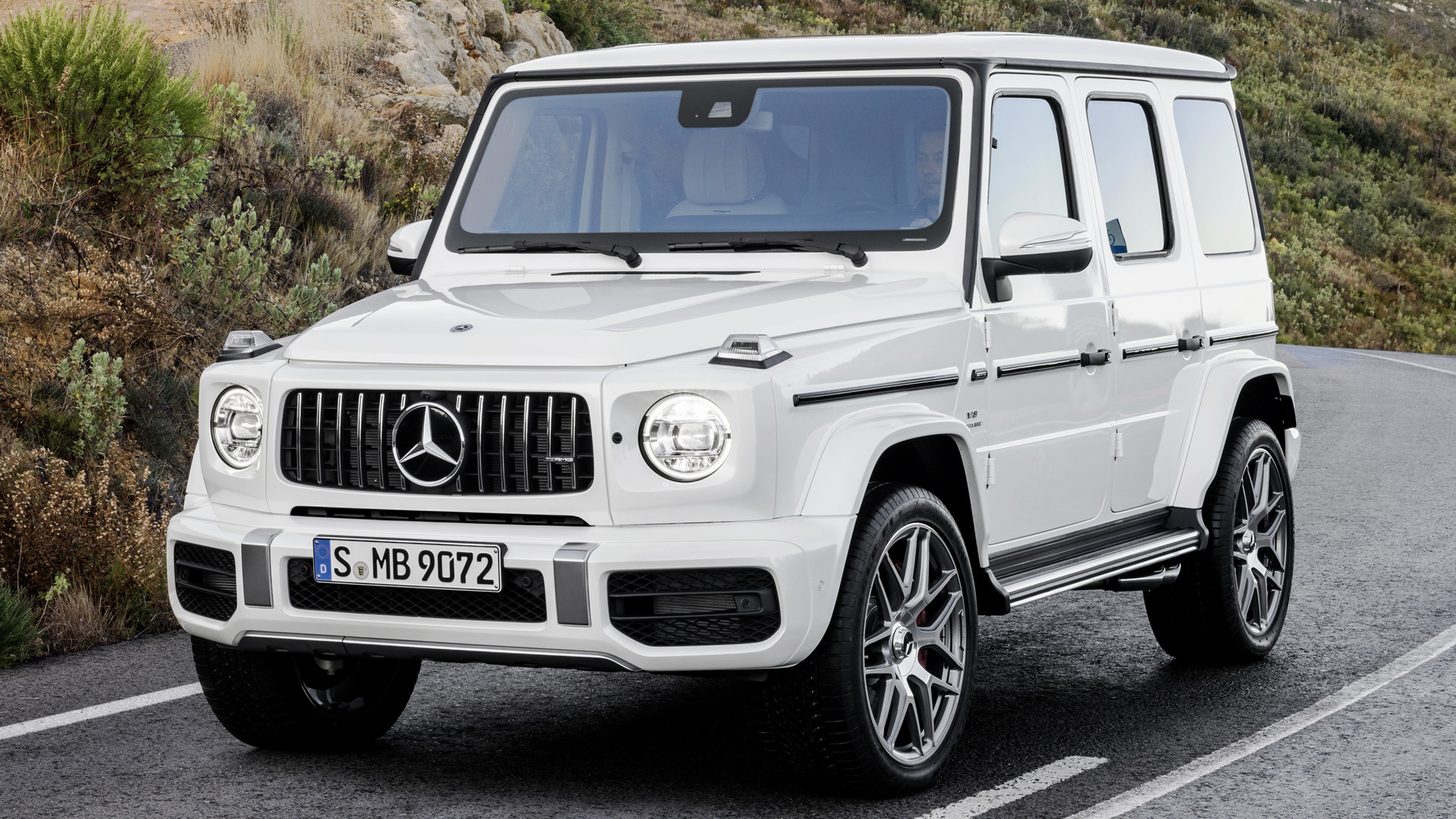 2018 Mercedes-AMG G 63 - Wallpapers and HD Images | Car Pixel